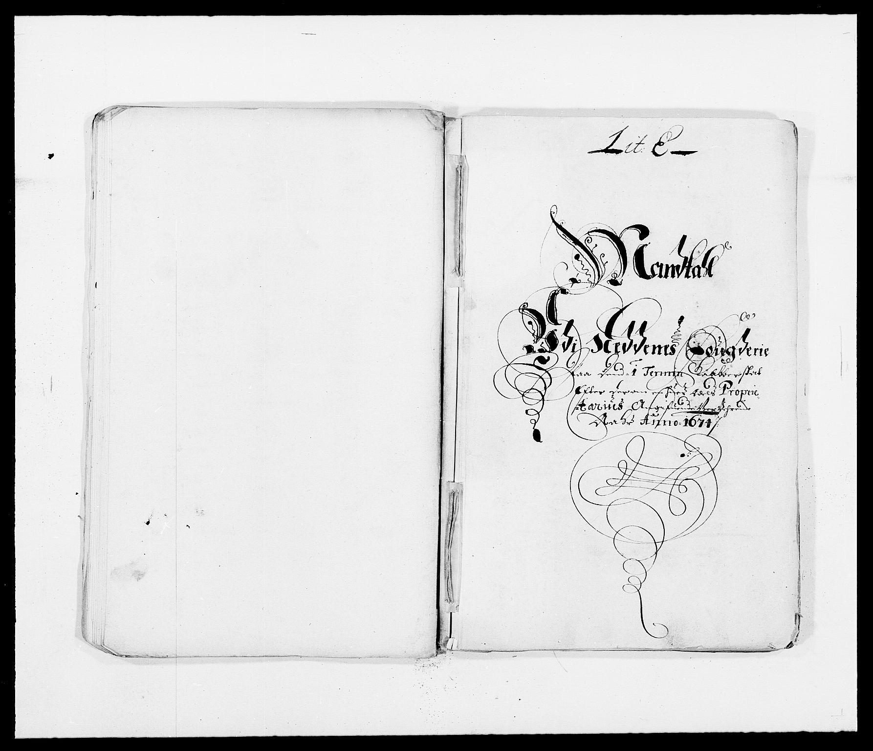 RA, Rentekammeret inntil 1814, Reviderte regnskaper, Fogderegnskap, R39/L2300: Fogderegnskap Nedenes, 1672-1674, s. 334