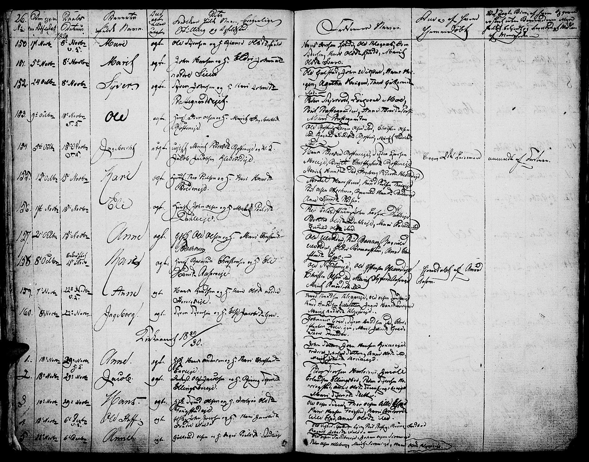 SAH, Vågå prestekontor, Ministerialbok nr. 4 /1, 1827-1842, s. 26