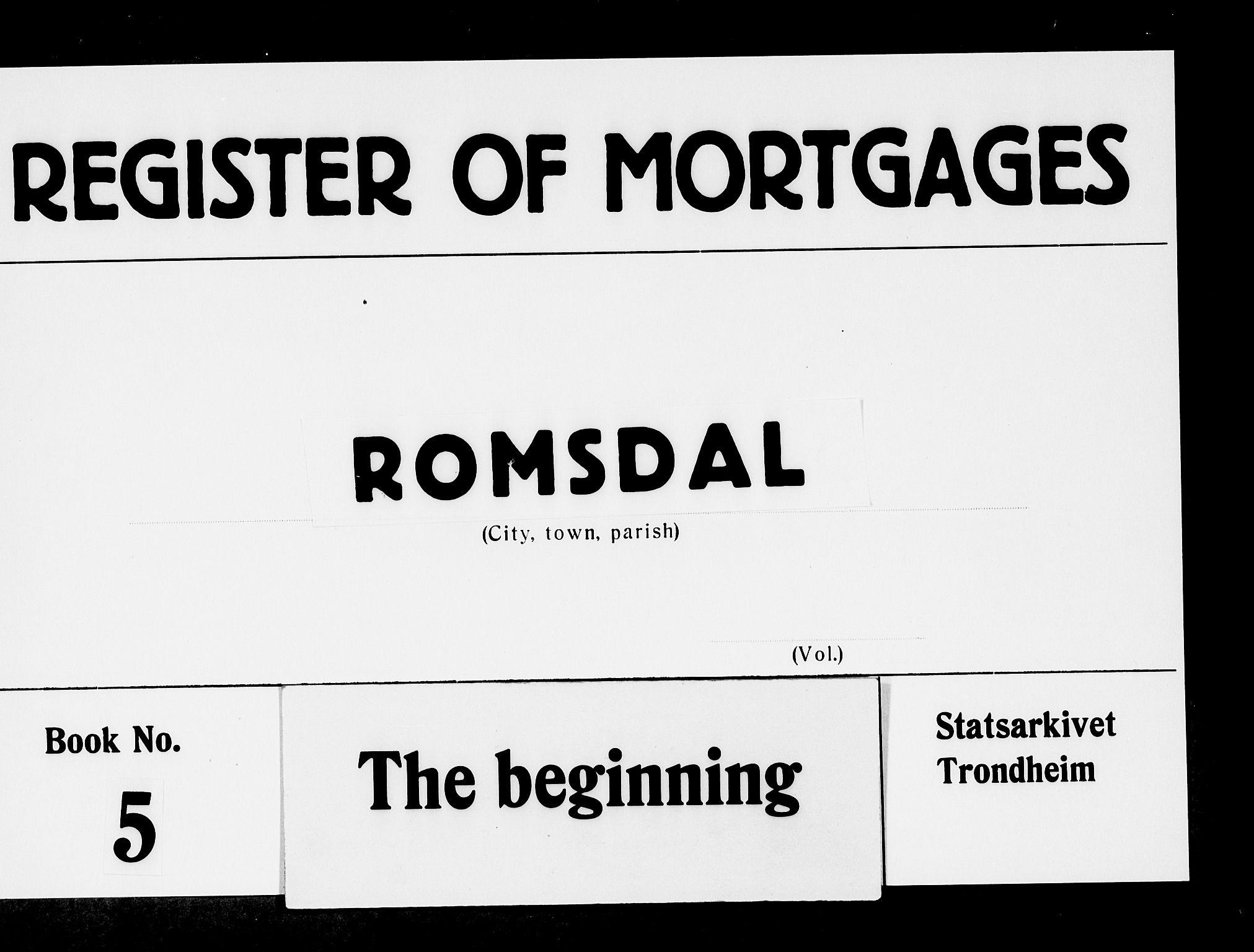 SAT, Romsdal sorenskriveri, 2/2C/L0006: Pantebok nr. 5 I-II, 1791-1806