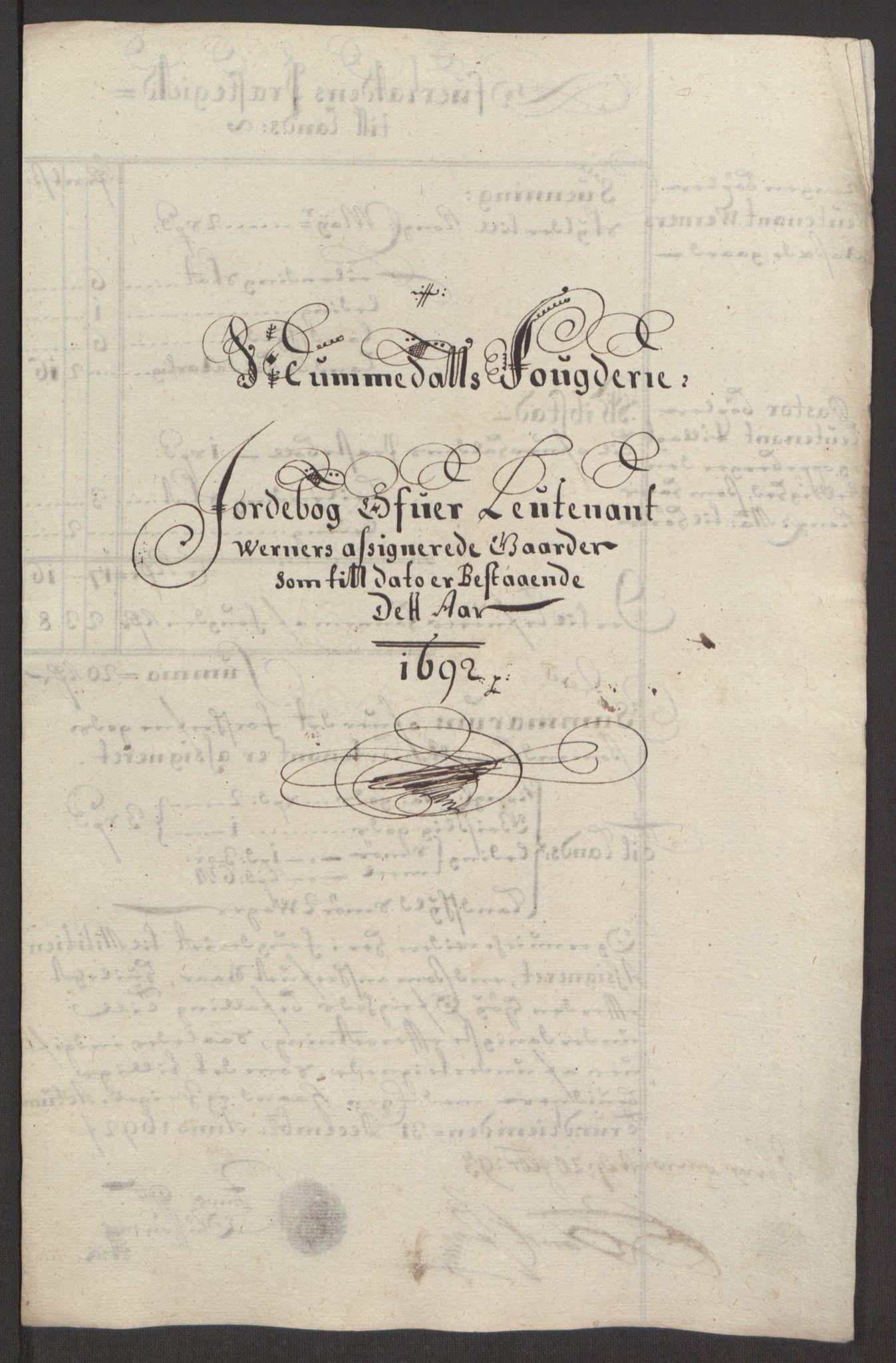 RA, Rentekammeret inntil 1814, Reviderte regnskaper, Fogderegnskap, R64/L4424: Fogderegnskap Namdal, 1692-1695, s. 150