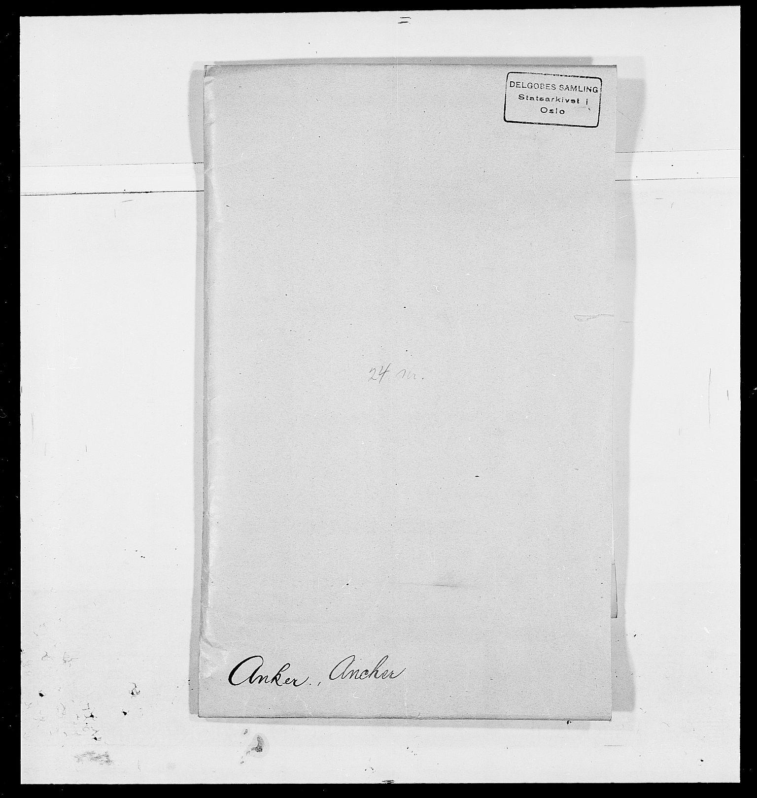 SAO, Delgobe, Charles Antoine - samling, D/Da/L0002: Anker, Ancher - Bauner, s. 84