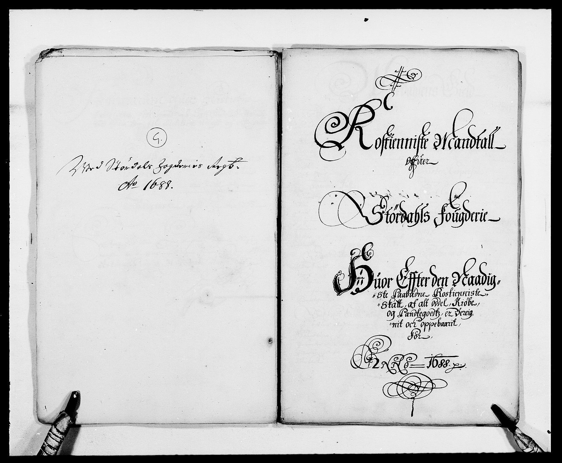 RA, Rentekammeret inntil 1814, Reviderte regnskaper, Fogderegnskap, R62/L4183: Fogderegnskap Stjørdal og Verdal, 1687-1689, s. 234