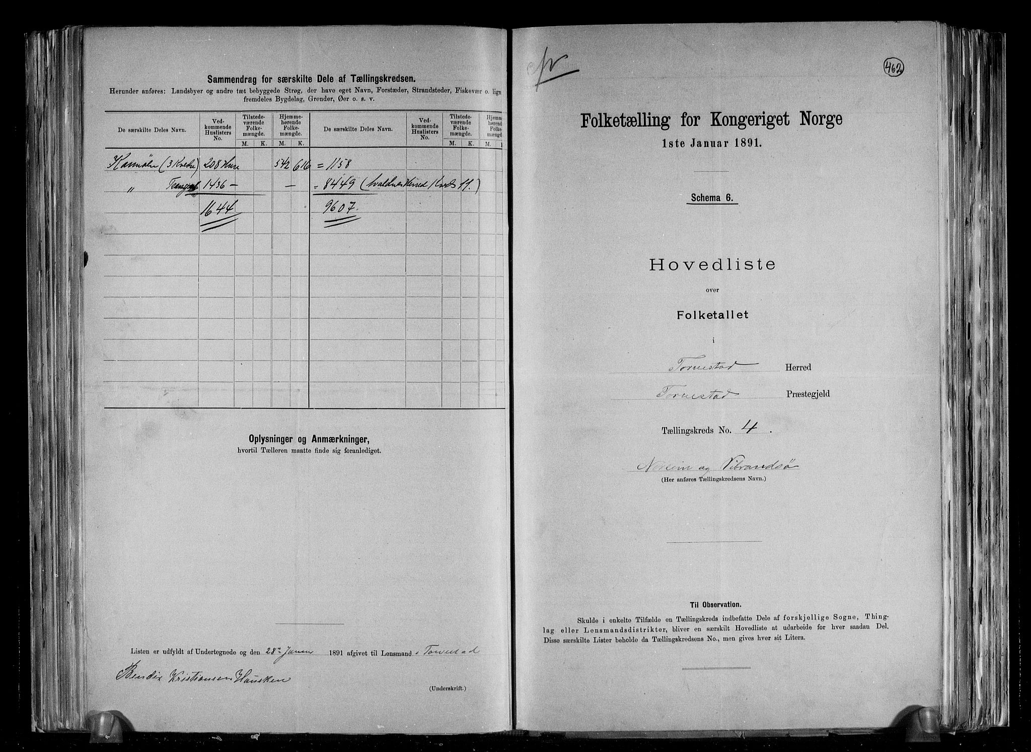 RA, Folketelling 1891 for 1152 Torvastad herred, 1891, s. 10