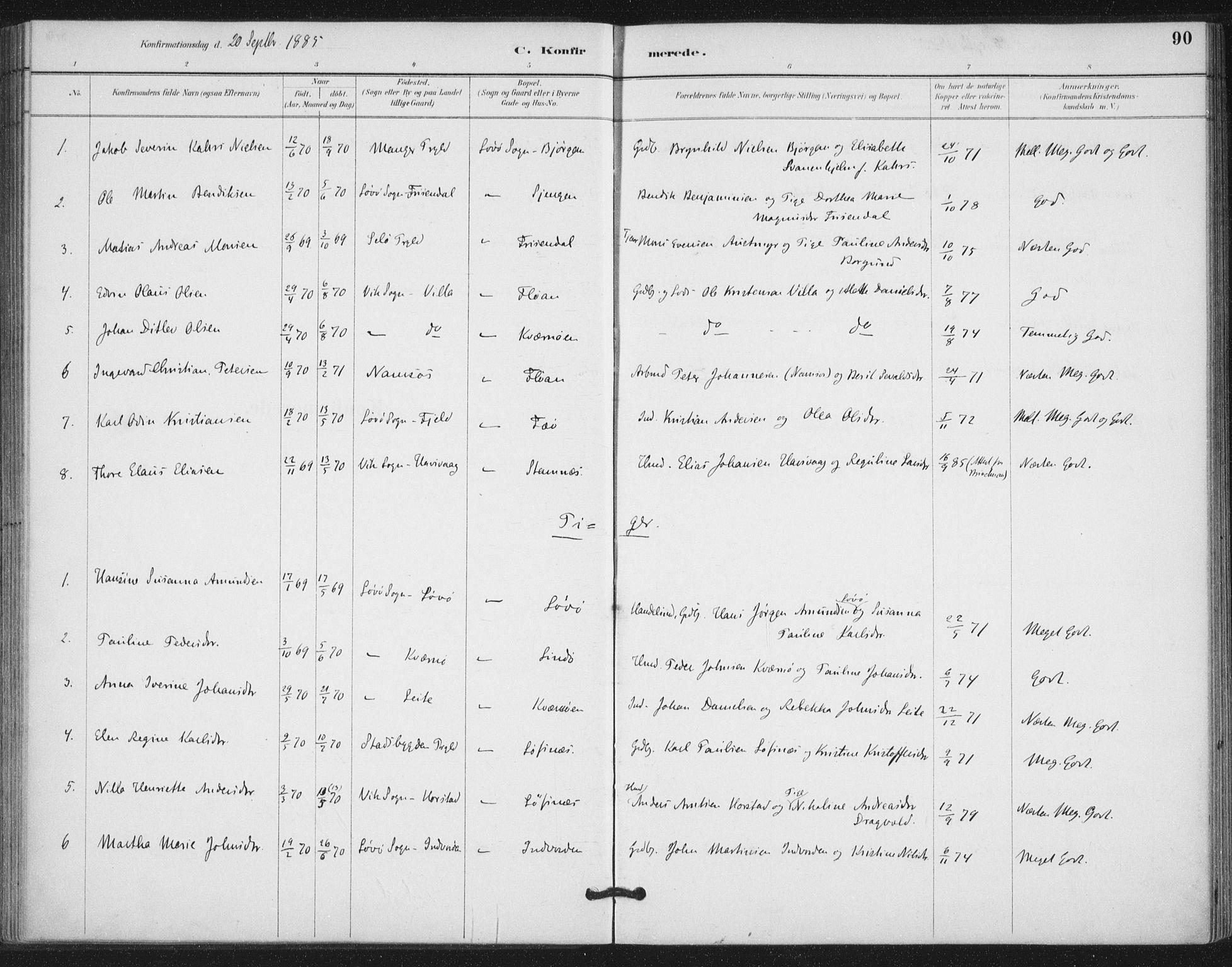 SAT, Ministerialprotokoller, klokkerbøker og fødselsregistre - Nord-Trøndelag, 772/L0603: Ministerialbok nr. 772A01, 1885-1912, s. 90