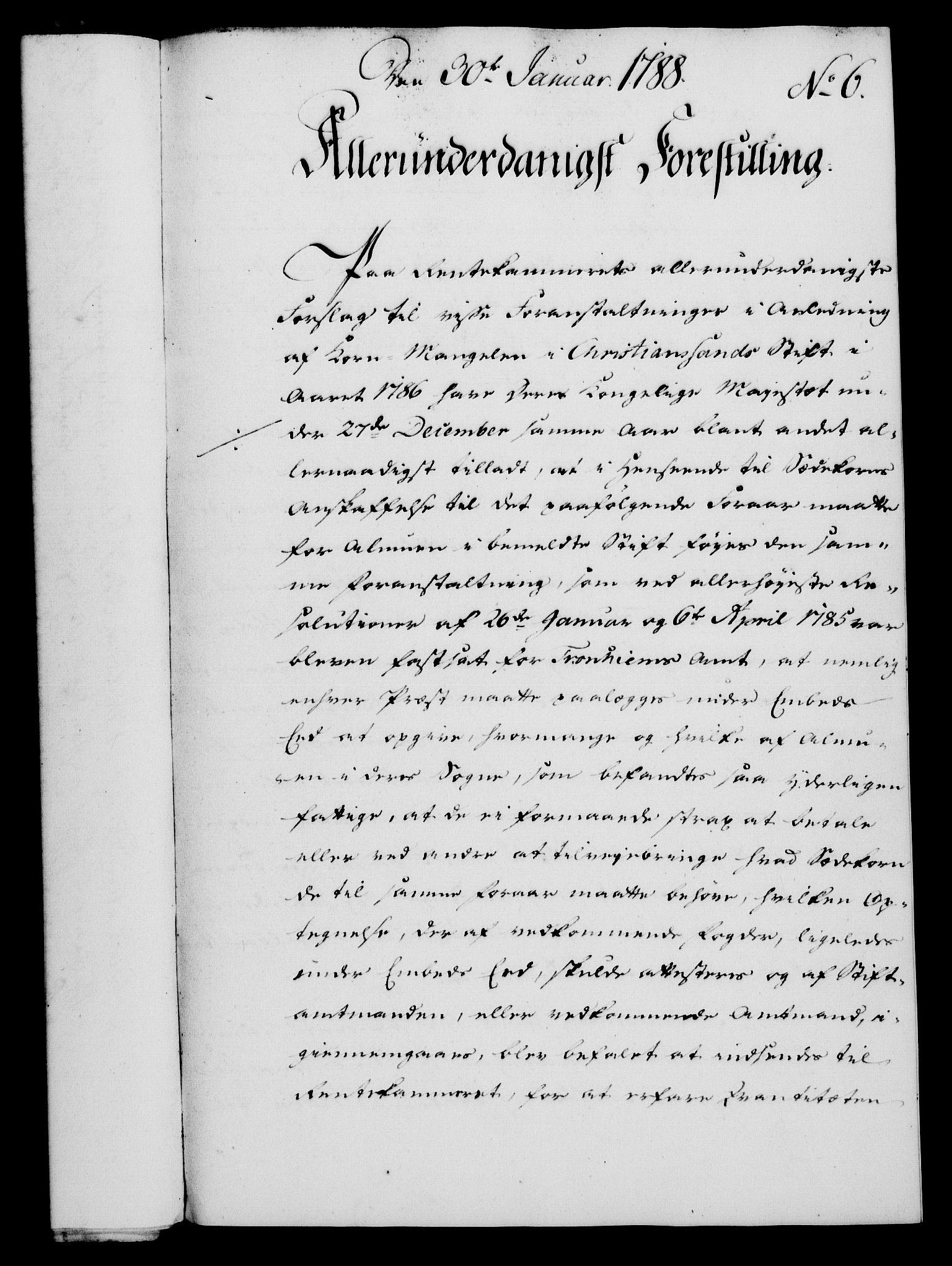 RA, Rentekammeret, Kammerkanselliet, G/Gf/Gfa/L0070: Norsk relasjons- og resolusjonsprotokoll (merket RK 52.70), 1788, s. 48