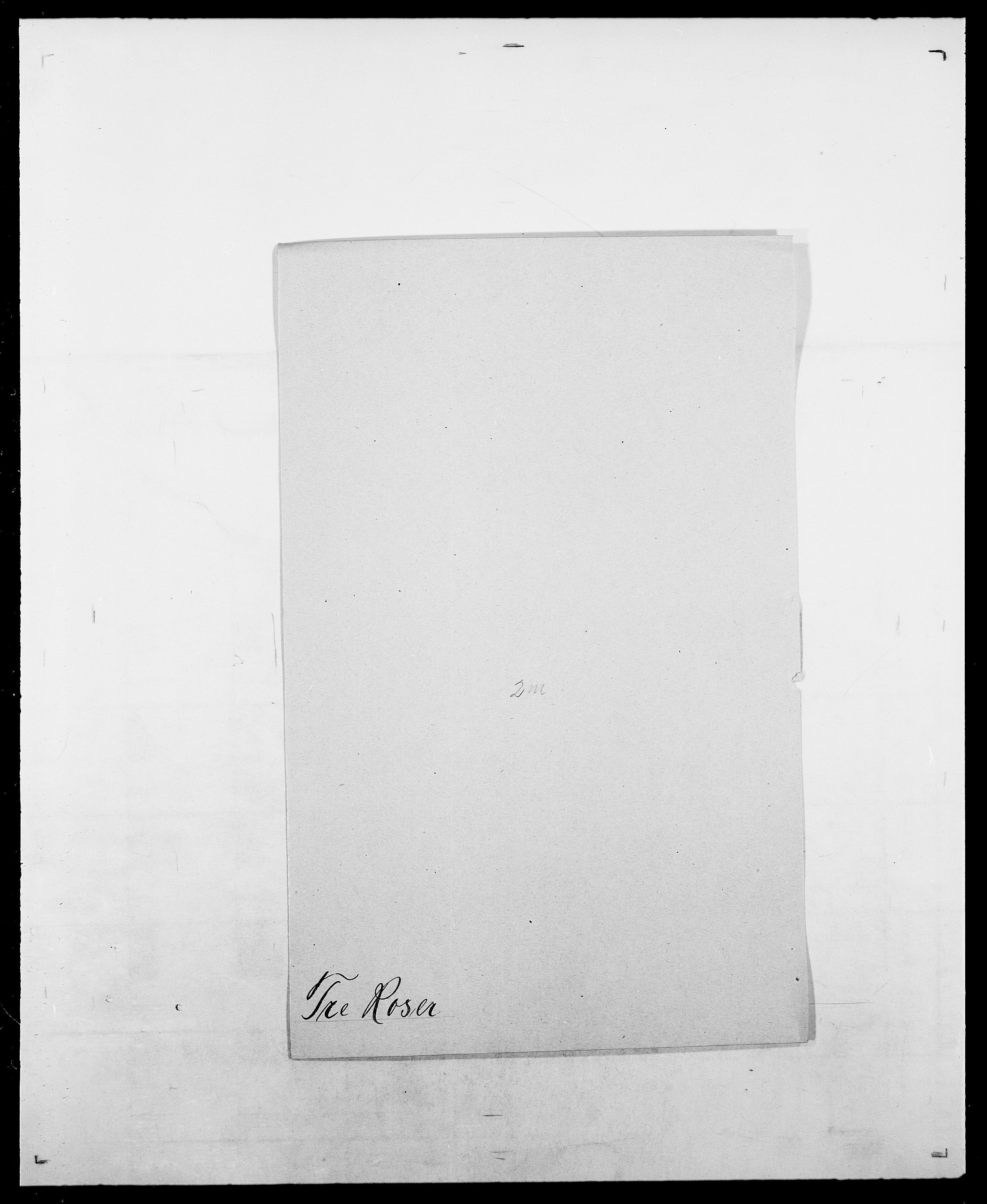 SAO, Delgobe, Charles Antoine - samling, D/Da/L0033: Roald - Røyem, s. 307