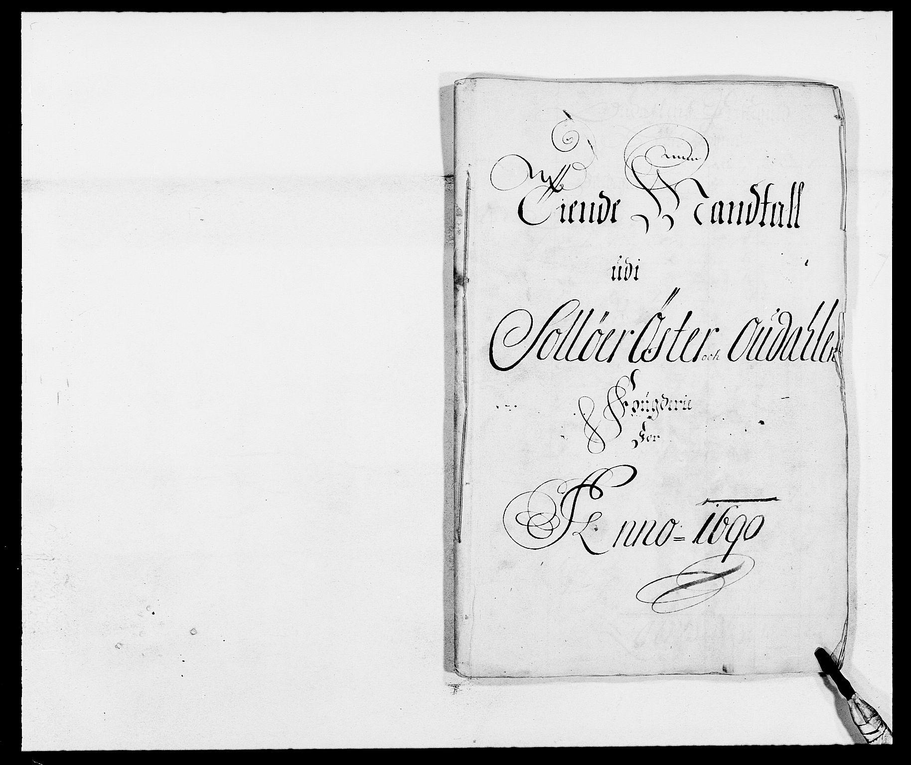 RA, Rentekammeret inntil 1814, Reviderte regnskaper, Fogderegnskap, R13/L0828: Fogderegnskap Solør, Odal og Østerdal, 1690, s. 202