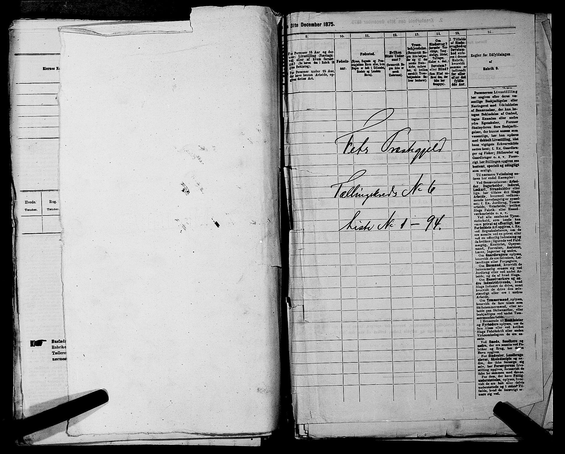 RA, Folketelling 1875 for 0227P Fet prestegjeld, 1875, s. 798