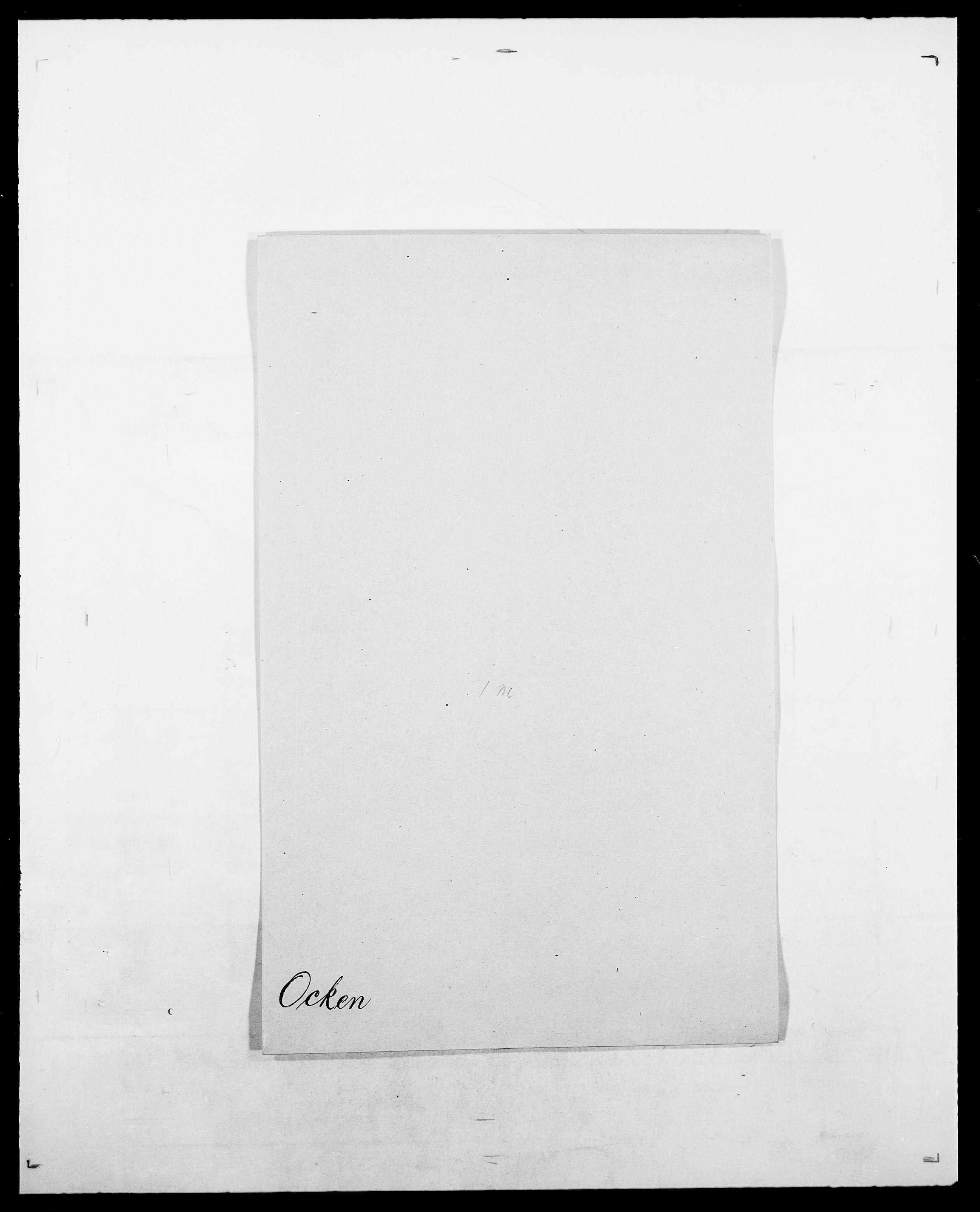 SAO, Delgobe, Charles Antoine - samling, D/Da/L0029: Obel - Oxholm, s. 9