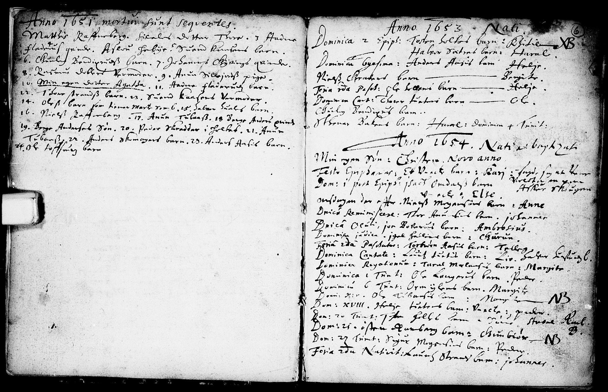 SAKO, Heddal kirkebøker, F/Fa/L0001: Ministerialbok nr. I 1, 1648-1699, s. 6