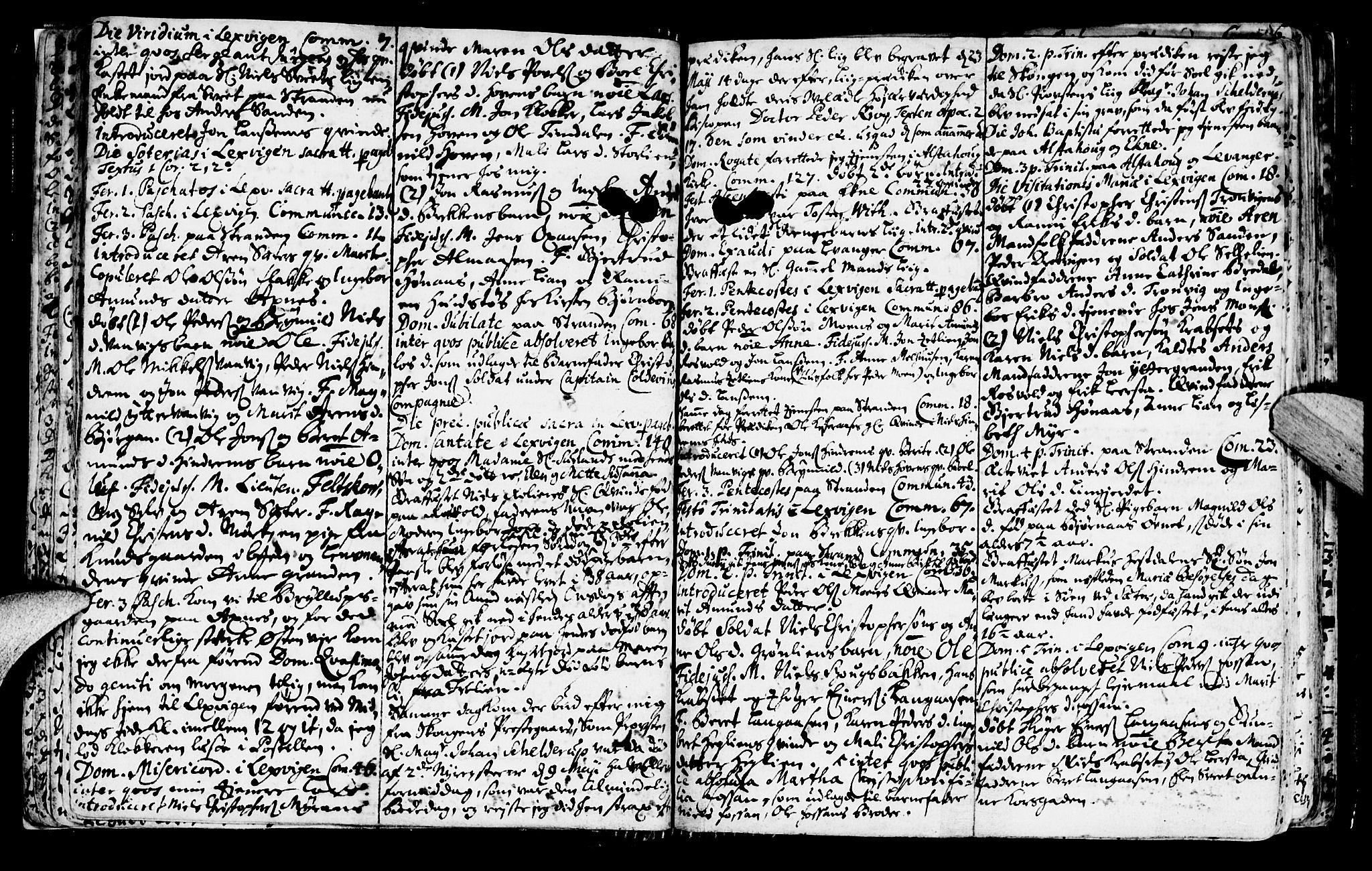 SAT, Ministerialprotokoller, klokkerbøker og fødselsregistre - Nord-Trøndelag, 701/L0001: Ministerialbok nr. 701A01, 1717-1731, s. 15