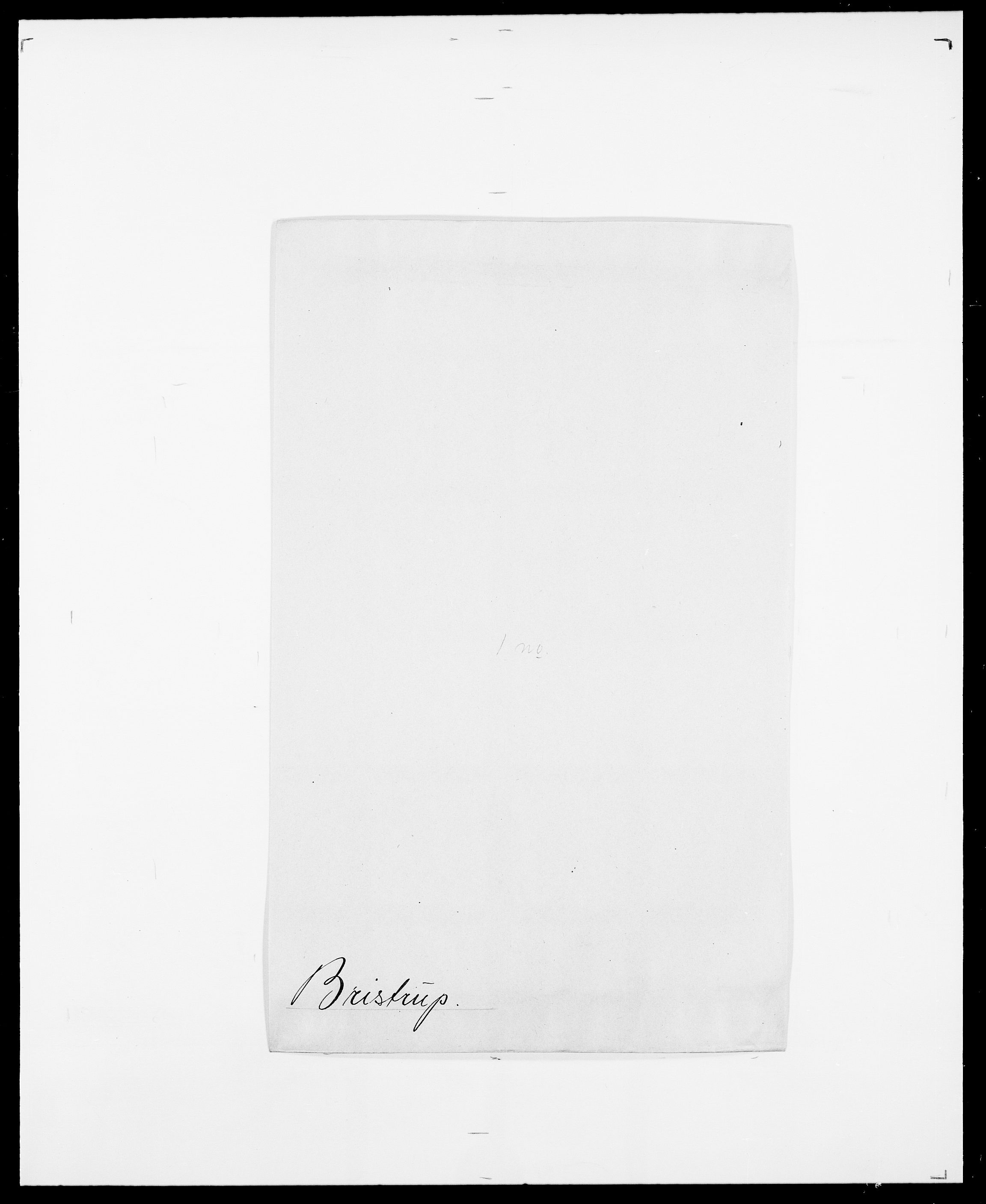 SAO, Delgobe, Charles Antoine - samling, D/Da/L0006: Brambani - Brønø, s. 404