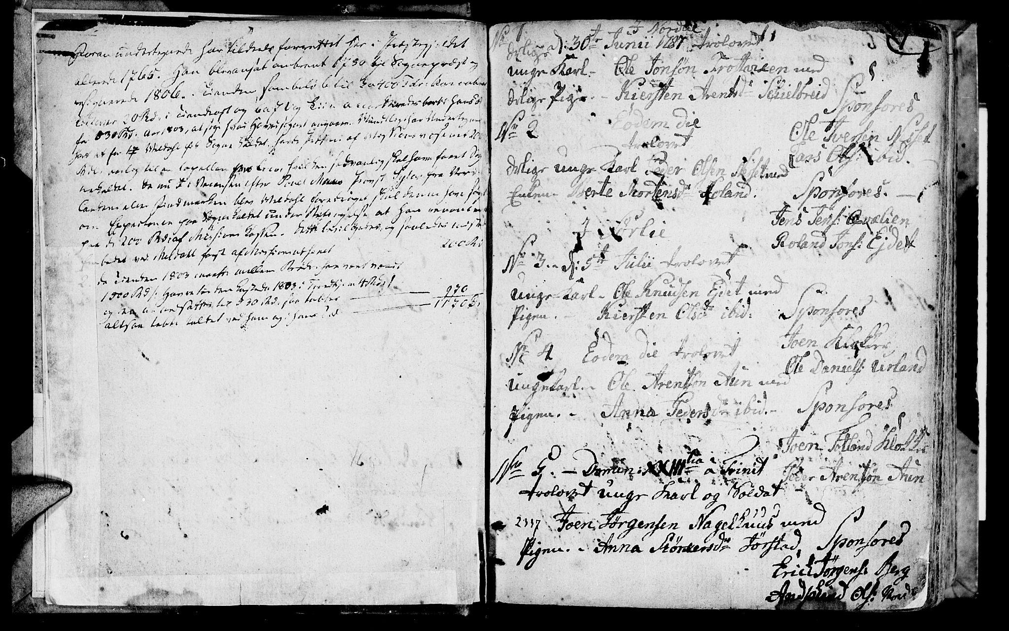 SAT, Ministerialprotokoller, klokkerbøker og fødselsregistre - Nord-Trøndelag, 749/L0468: Ministerialbok nr. 749A02, 1787-1817, s. 0-1