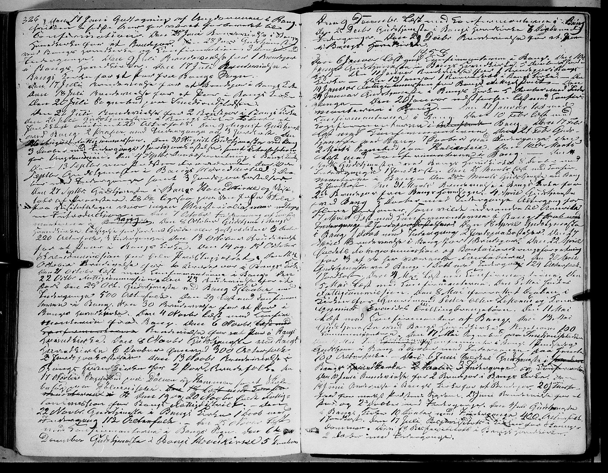 SAH, Sør-Aurdal prestekontor, Ministerialbok nr. 5, 1849-1876, s. 326