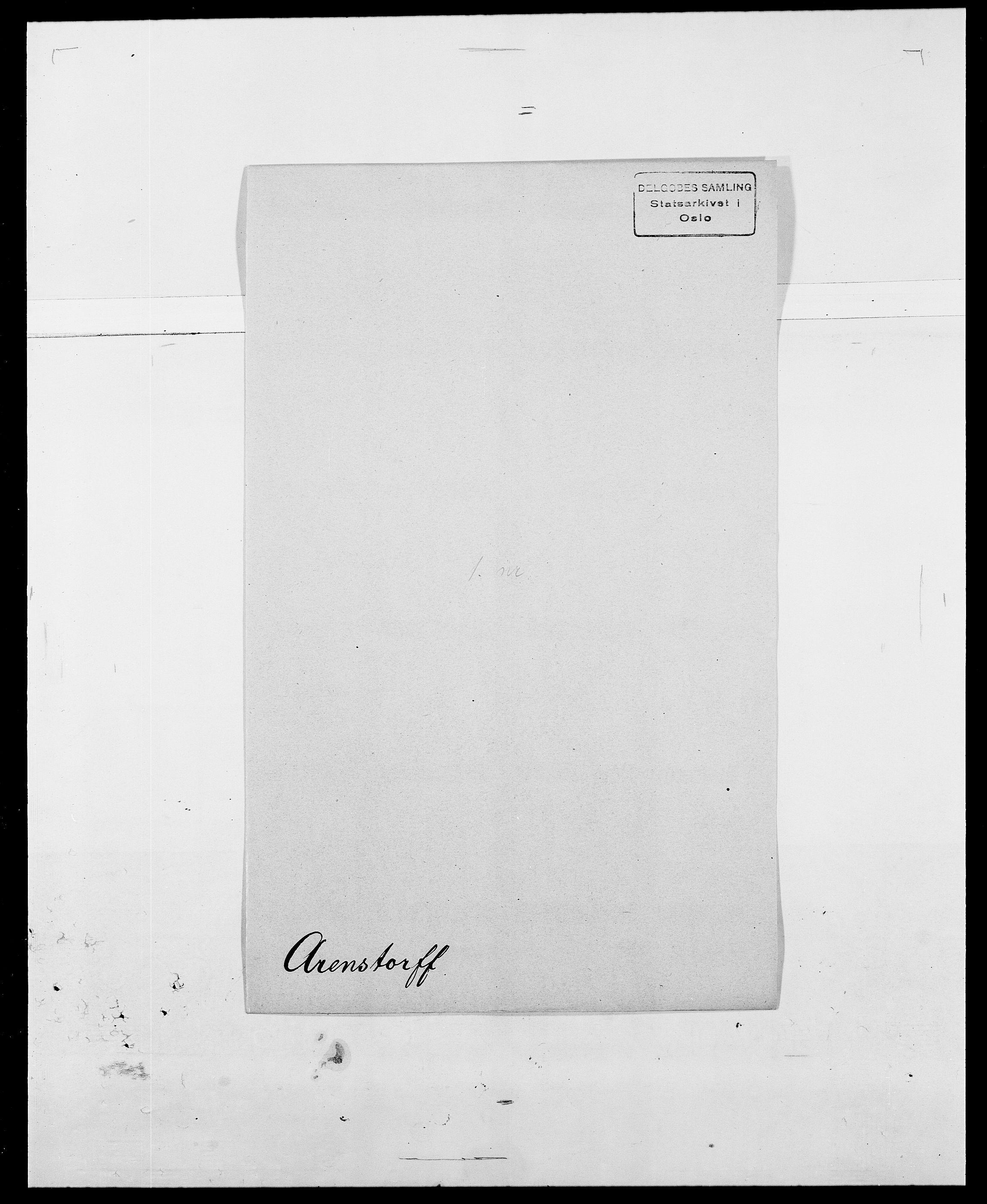 SAO, Delgobe, Charles Antoine - samling, D/Da/L0002: Anker, Ancher - Bauner, s. 256