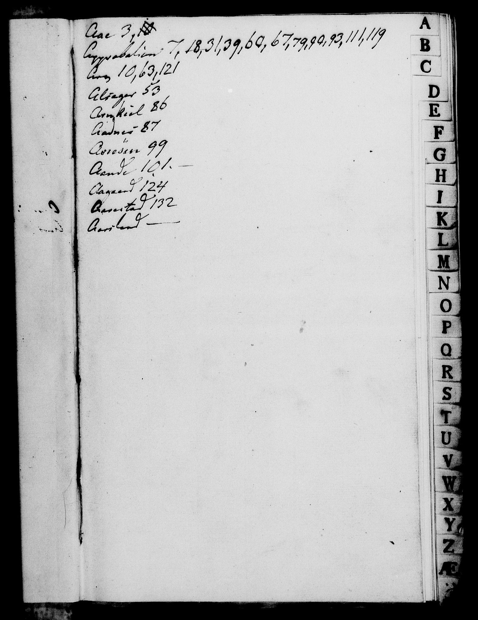 RA, Rentekammeret, Kammerkanselliet, G/Gf/Gfa/L0068: Norsk relasjons- og resolusjonsprotokoll (merket RK 52.68), 1786, s. 3
