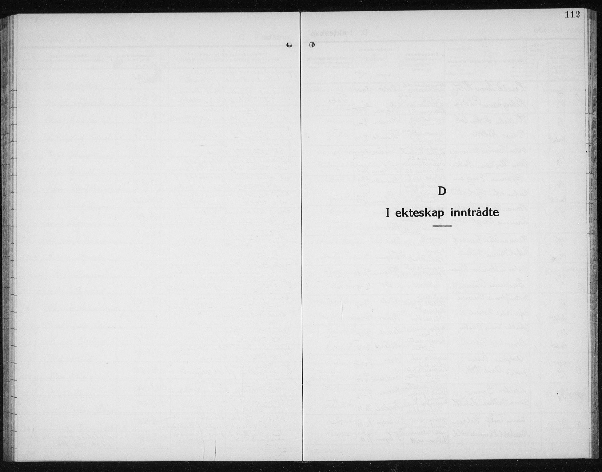 SAT, Ministerialprotokoller, klokkerbøker og fødselsregistre - Sør-Trøndelag, 607/L0327: Klokkerbok nr. 607C01, 1930-1939, s. 112