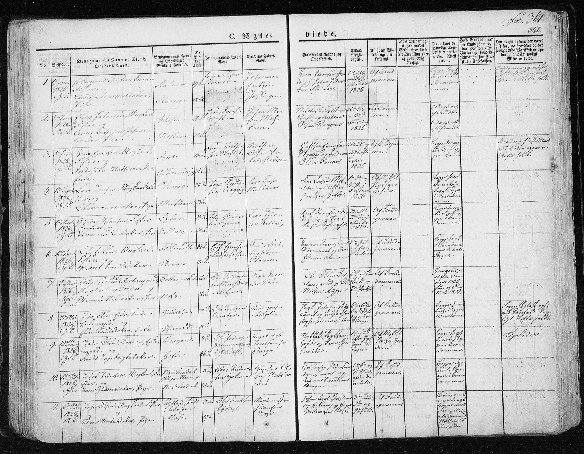 SAT, Ministerialprotokoller, klokkerbøker og fødselsregistre - Sør-Trøndelag, 659/L0735: Ministerialbok nr. 659A05, 1826-1841, s. 361