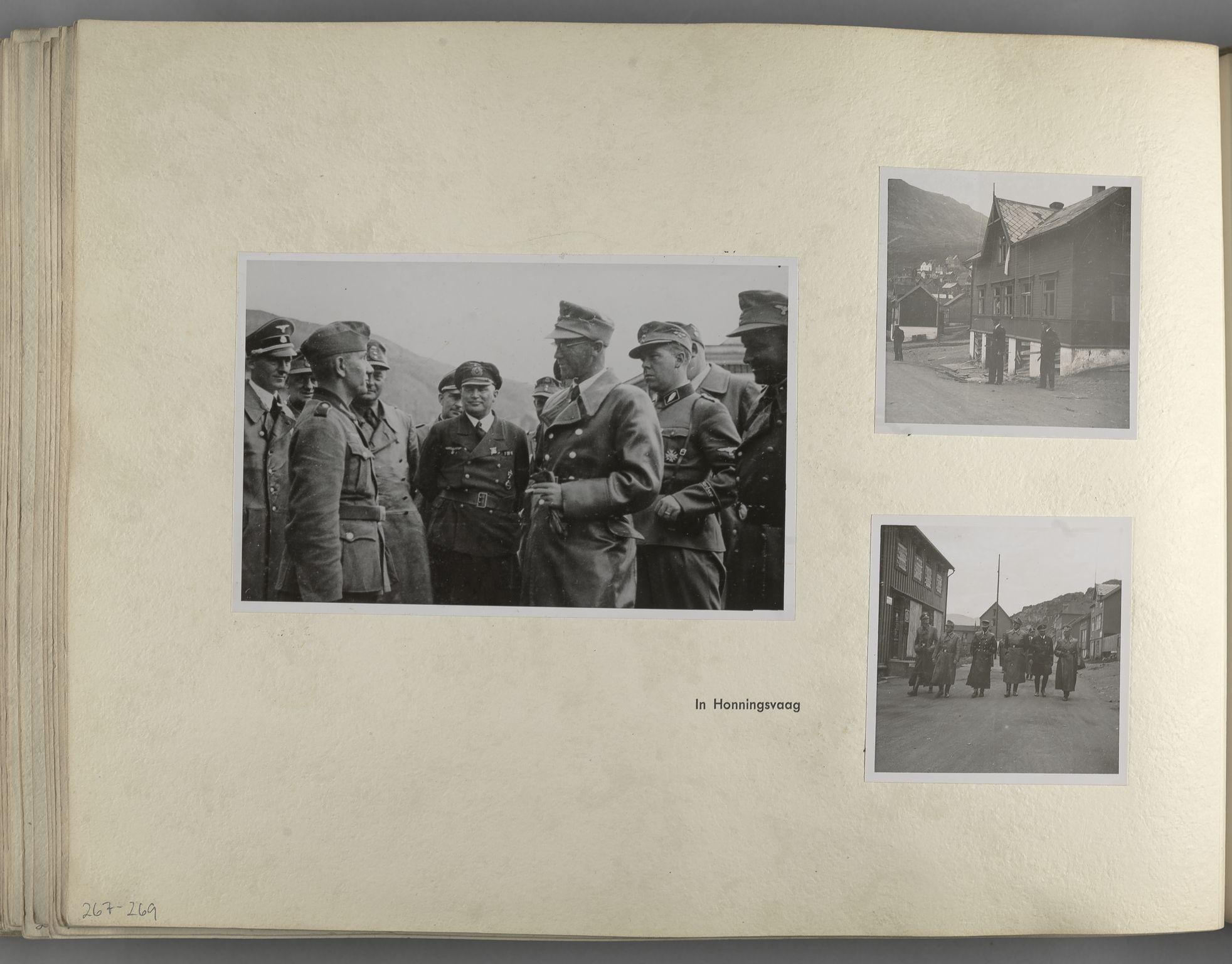 RA, Tyske arkiver, Reichskommissariat, Bildarchiv, U/L0071: Fotoalbum: Mit dem Reichskommissar nach Nordnorwegen und Finnland 10. bis 27. Juli 1942, 1942, s. 106