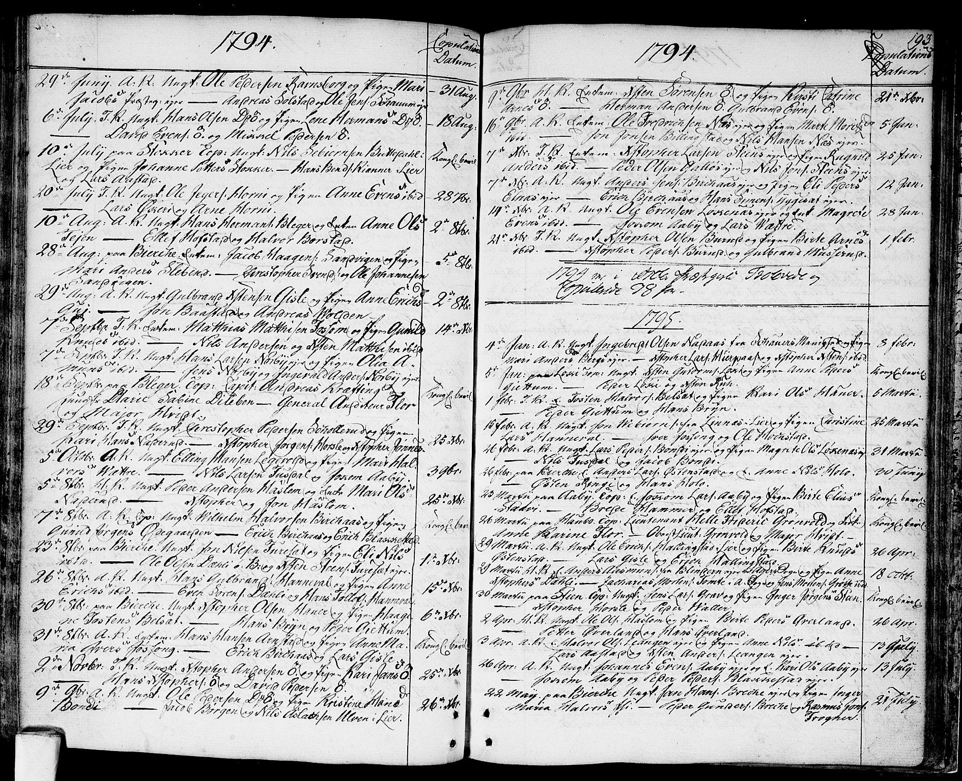 SAO, Asker prestekontor Kirkebøker, F/Fa/L0003: Ministerialbok nr. I 3, 1767-1807, s. 193