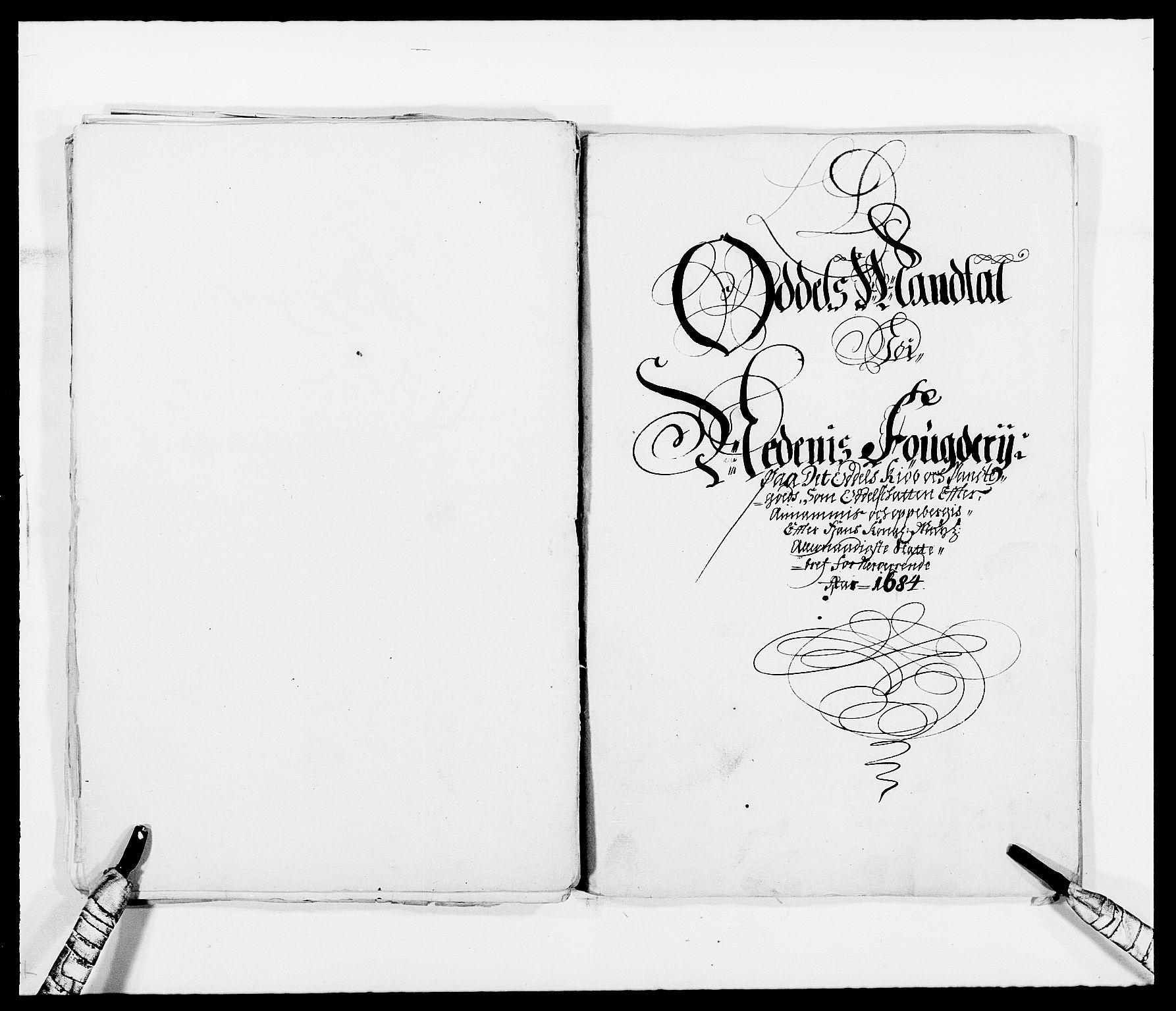 RA, Rentekammeret inntil 1814, Reviderte regnskaper, Fogderegnskap, R39/L2308: Fogderegnskap Nedenes, 1684-1689, s. 22
