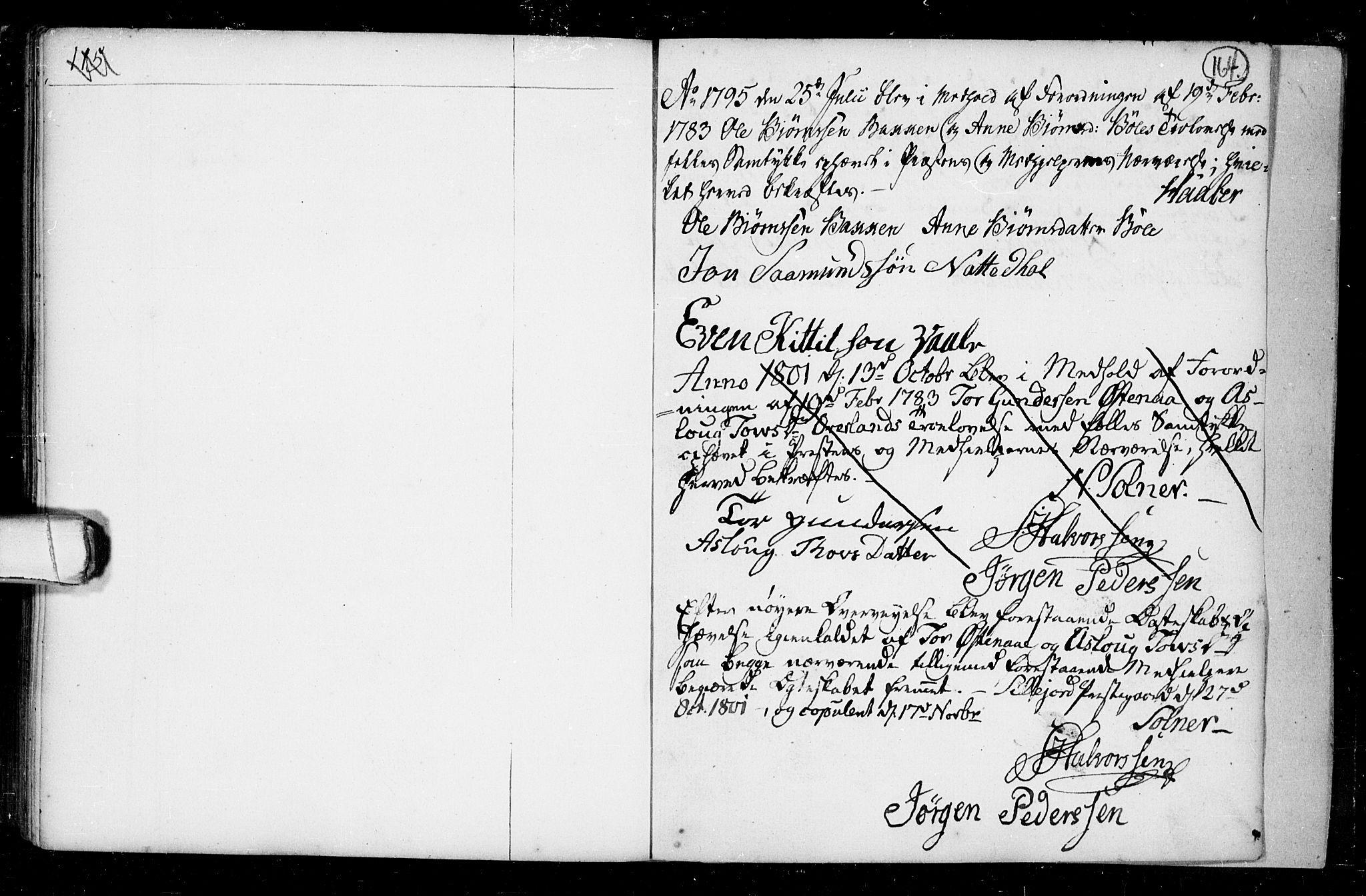 SAKO, Seljord kirkebøker, F/Fa/L0008: Ministerialbok nr. I 8, 1755-1814, s. 164