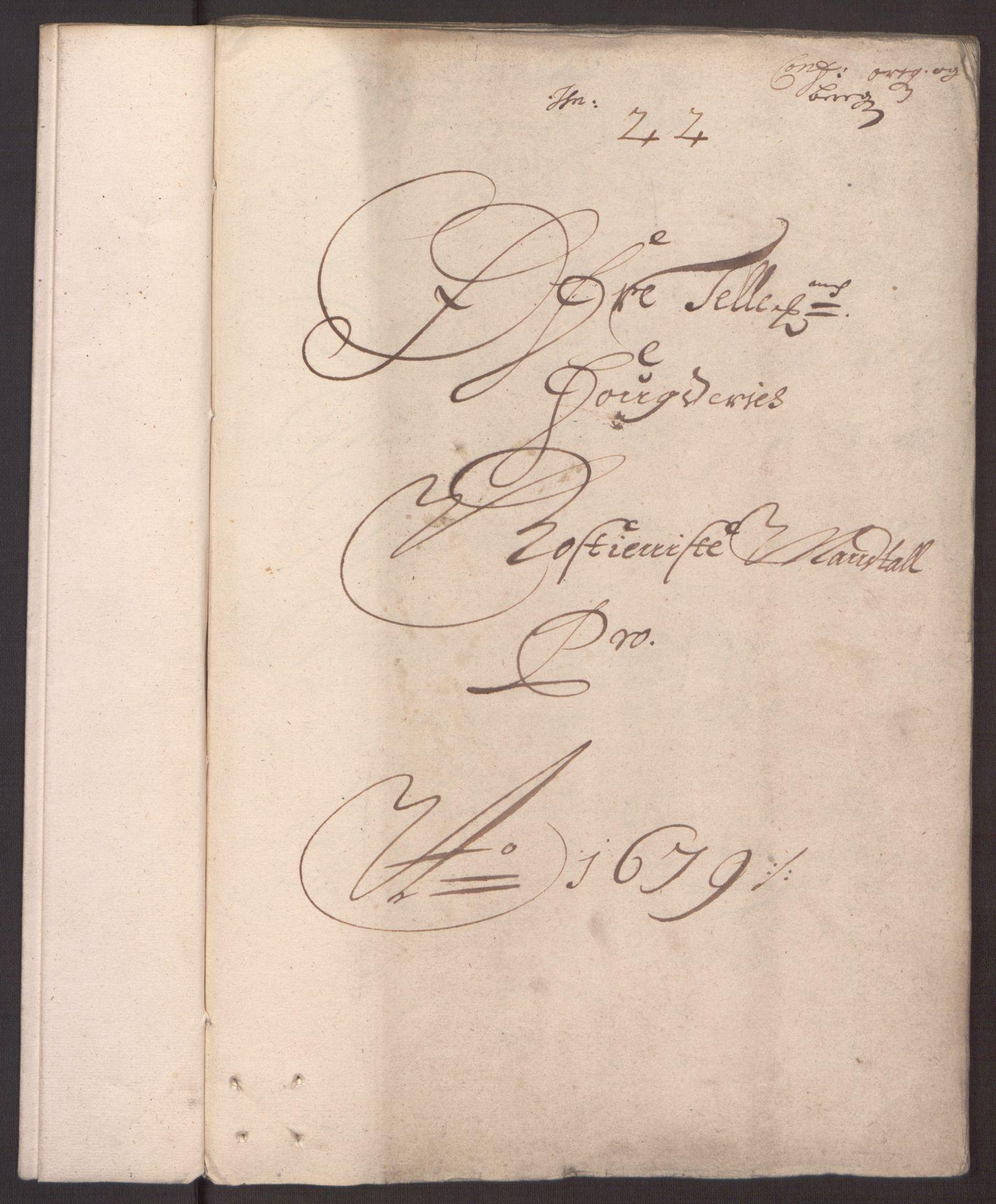 RA, Rentekammeret inntil 1814, Reviderte regnskaper, Fogderegnskap, R35/L2073: Fogderegnskap Øvre og Nedre Telemark, 1679, s. 168
