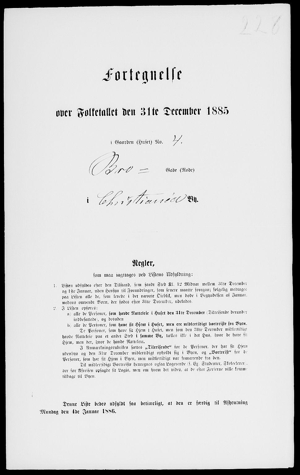 RA, Folketelling 1885 for 0301 Kristiania kjøpstad, 1885, s. 7759