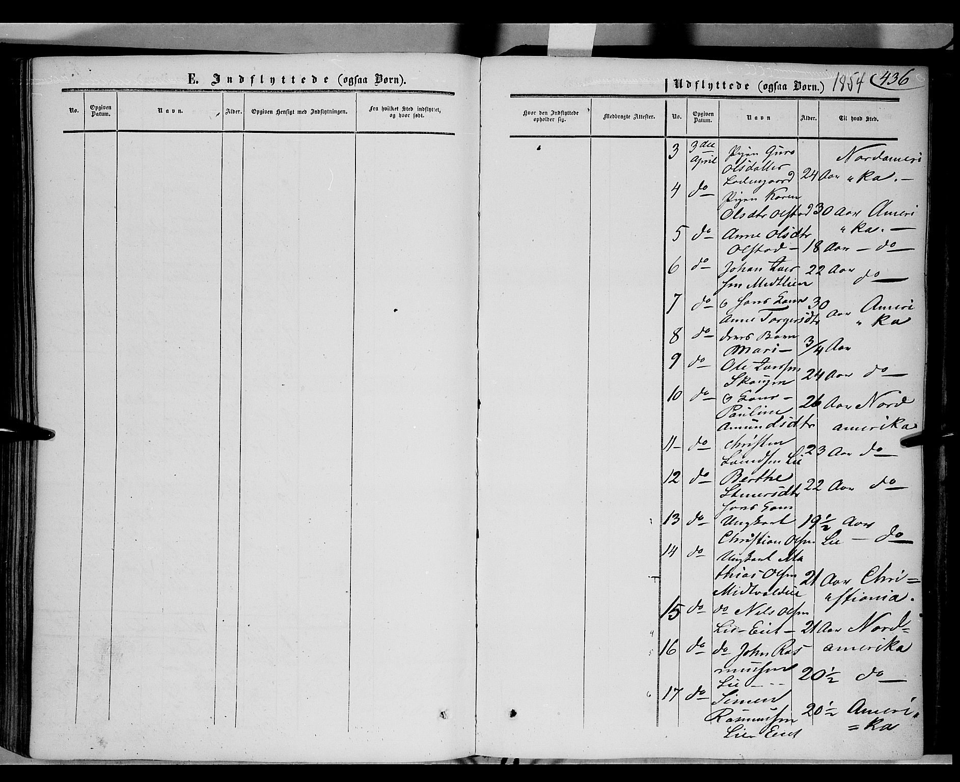 SAH, Gausdal prestekontor, Ministerialbok nr. 8, 1850-1861, s. 436