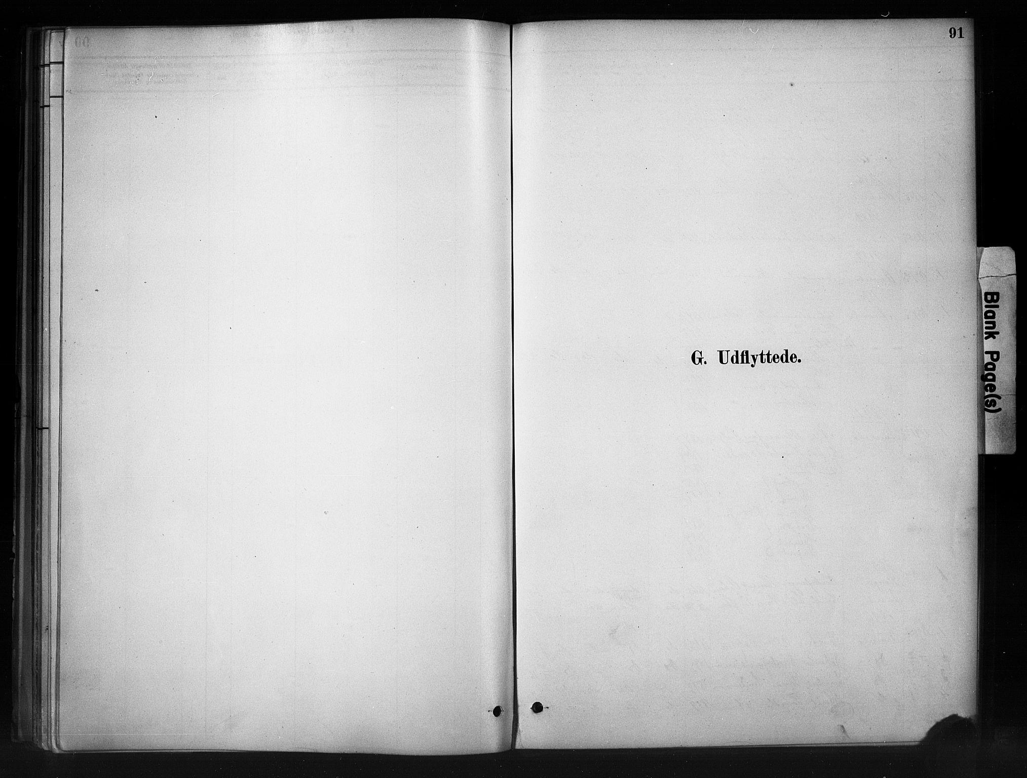 SAH, Nord-Aurdal prestekontor, Ministerialbok nr. 11, 1883-1896, s. 91
