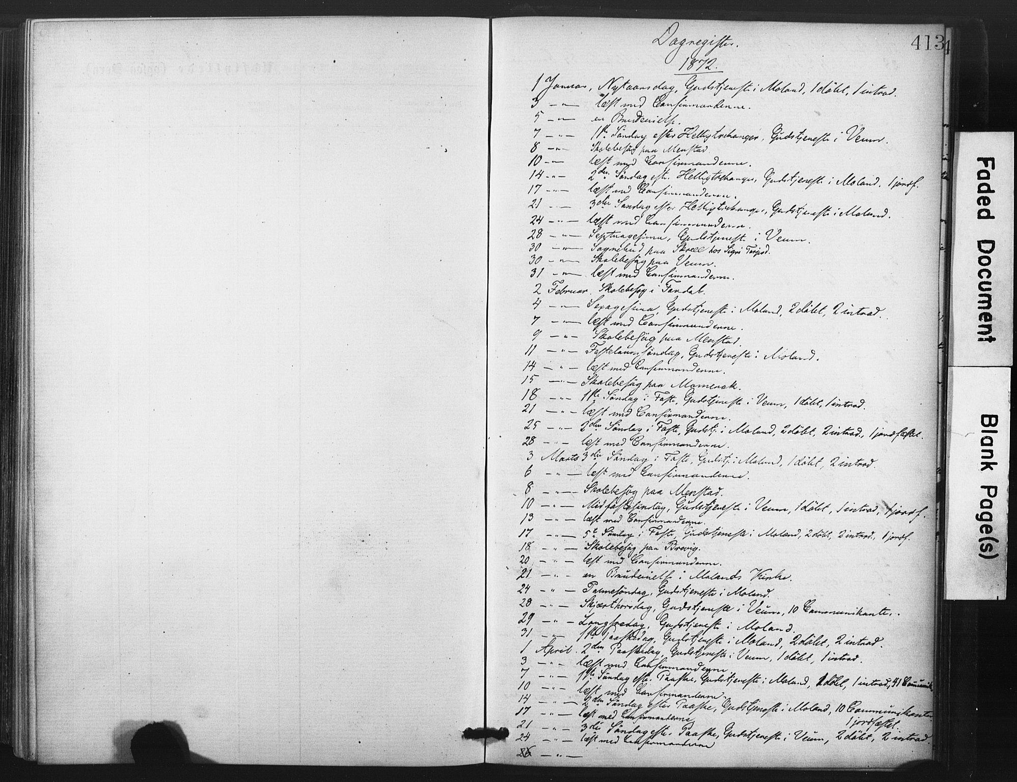 SAKO, Fyresdal kirkebøker, F/Fa/L0006: Ministerialbok nr. I 6, 1872-1886, s. 413