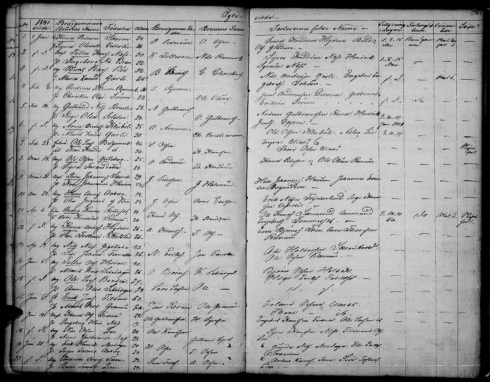 SAH, Nord-Aurdal prestekontor, Ministerialbok nr. 3, 1828-1841, s. 267