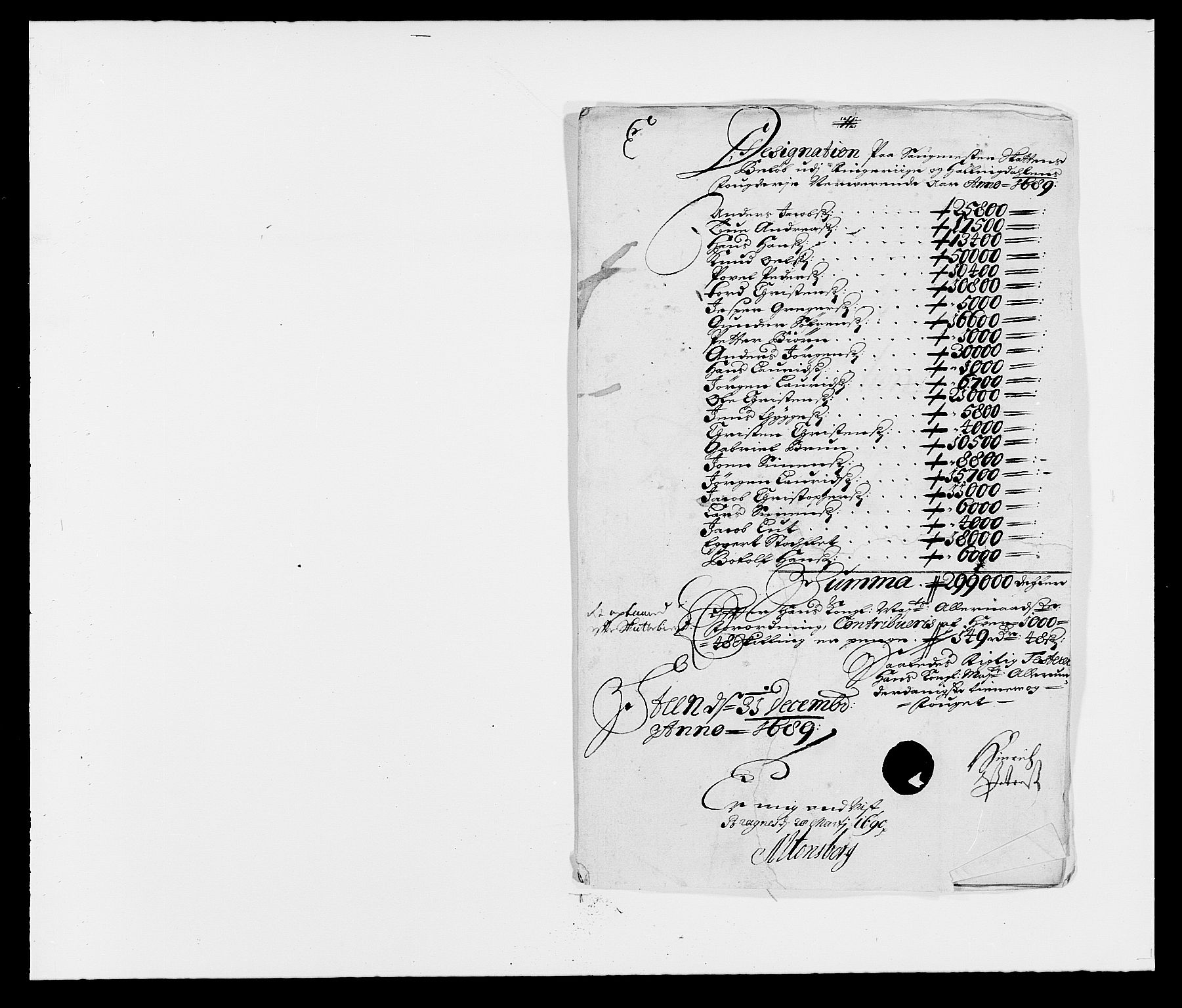 RA, Rentekammeret inntil 1814, Reviderte regnskaper, Fogderegnskap, R21/L1447: Fogderegnskap Ringerike og Hallingdal, 1687-1689, s. 306