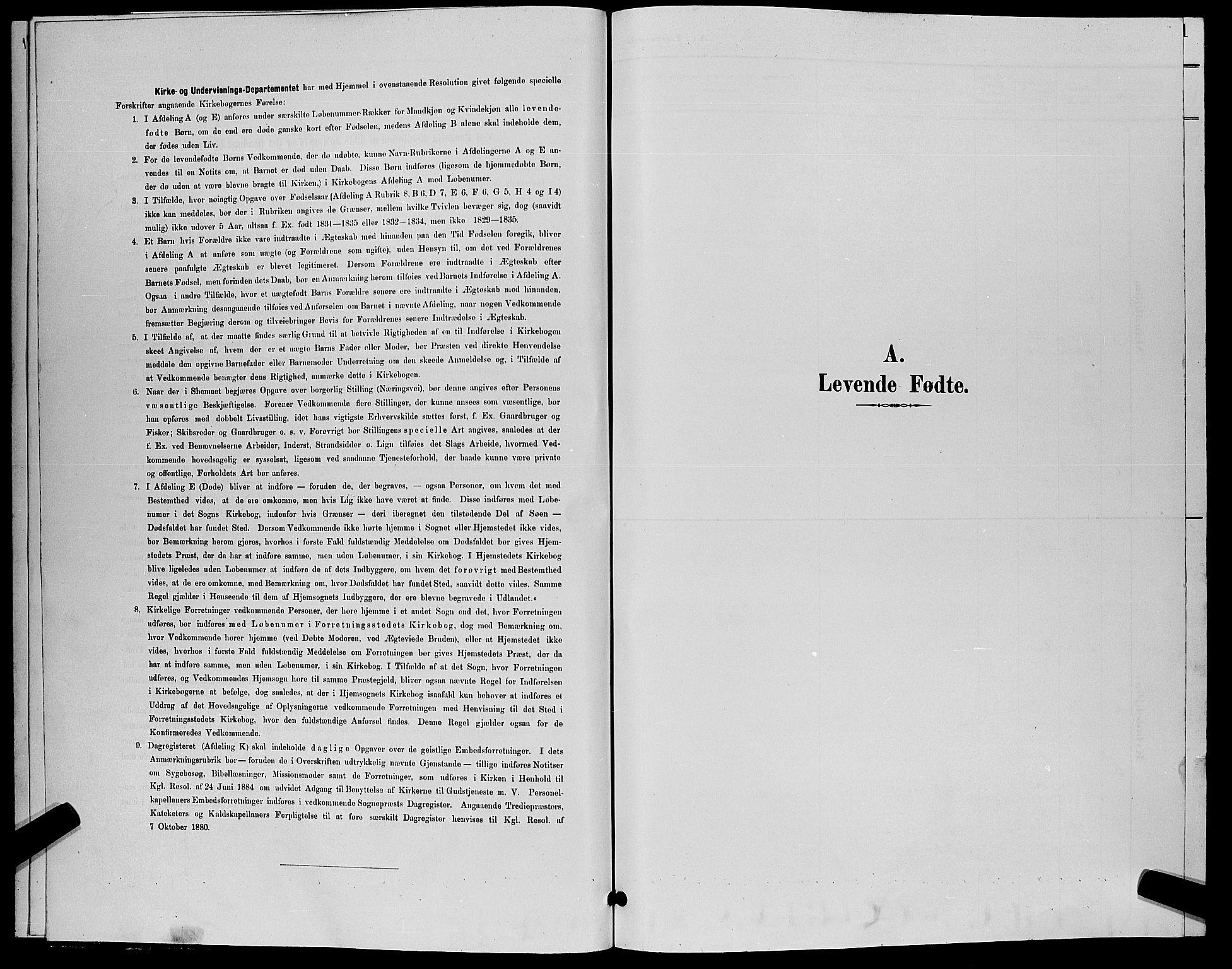 SAKO, Flesberg kirkebøker, G/Ga/L0004: Klokkerbok nr. I 4 /1, 1890-1898