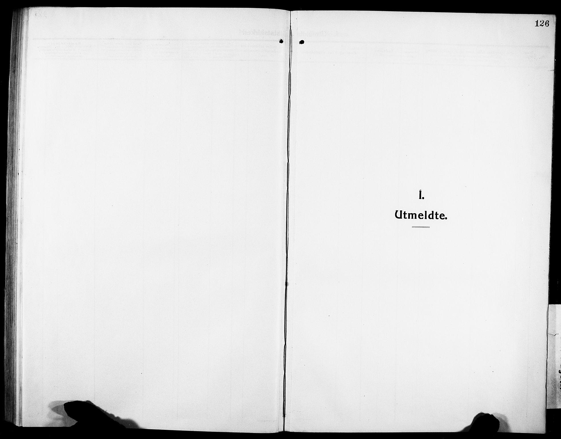 SAT, Ministerialprotokoller, klokkerbøker og fødselsregistre - Sør-Trøndelag, 634/L0543: Klokkerbok nr. 634C05, 1917-1928, s. 126