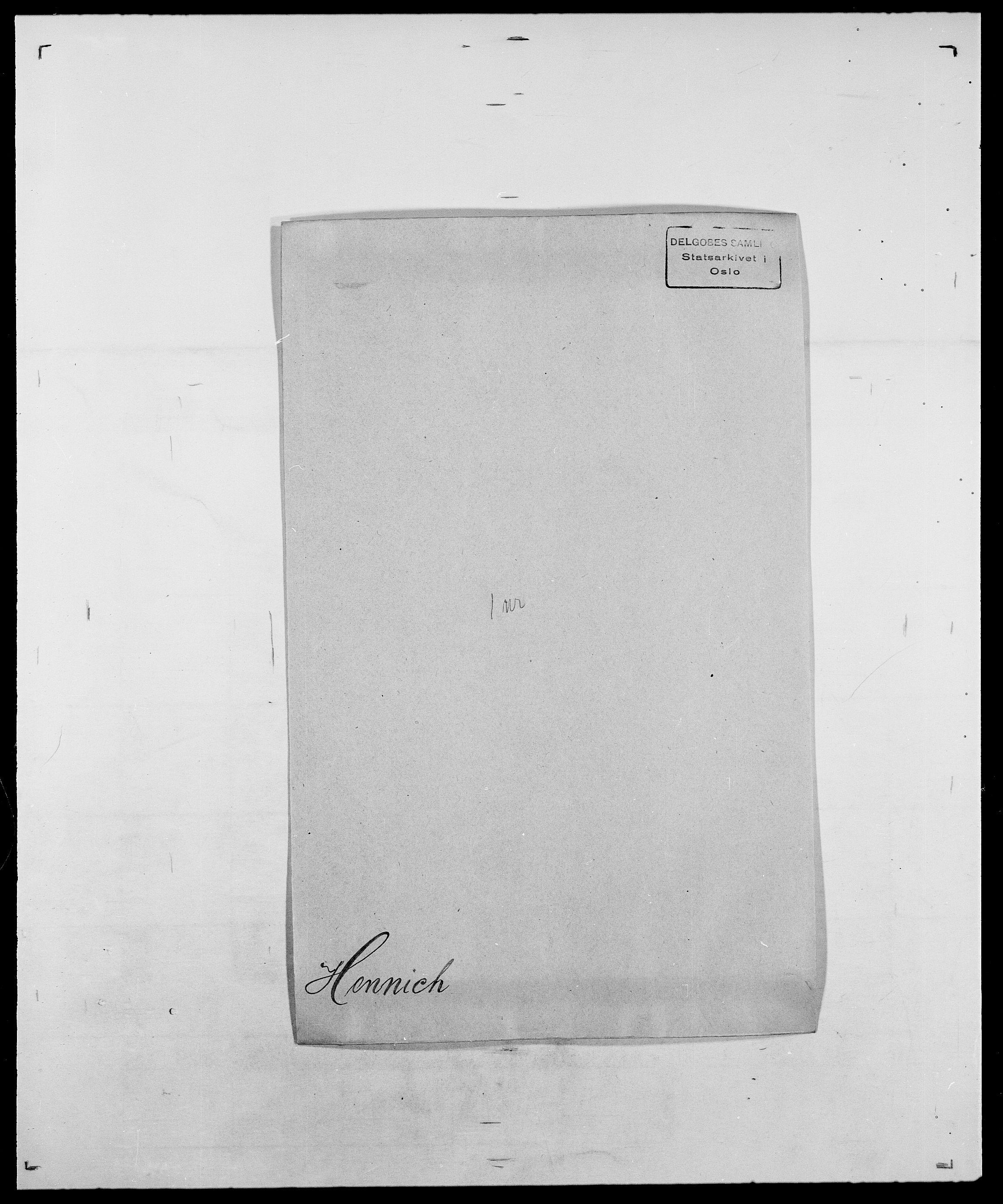 SAO, Delgobe, Charles Antoine - samling, D/Da/L0017: Helander - Hjørne, s. 181