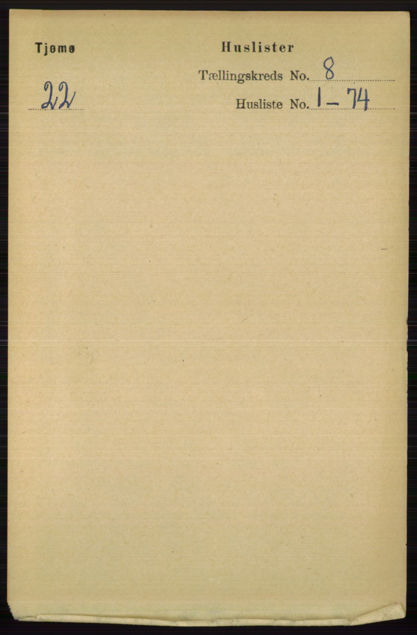 RA, Folketelling 1891 for 0723 Tjøme herred, 1891, s. 2720