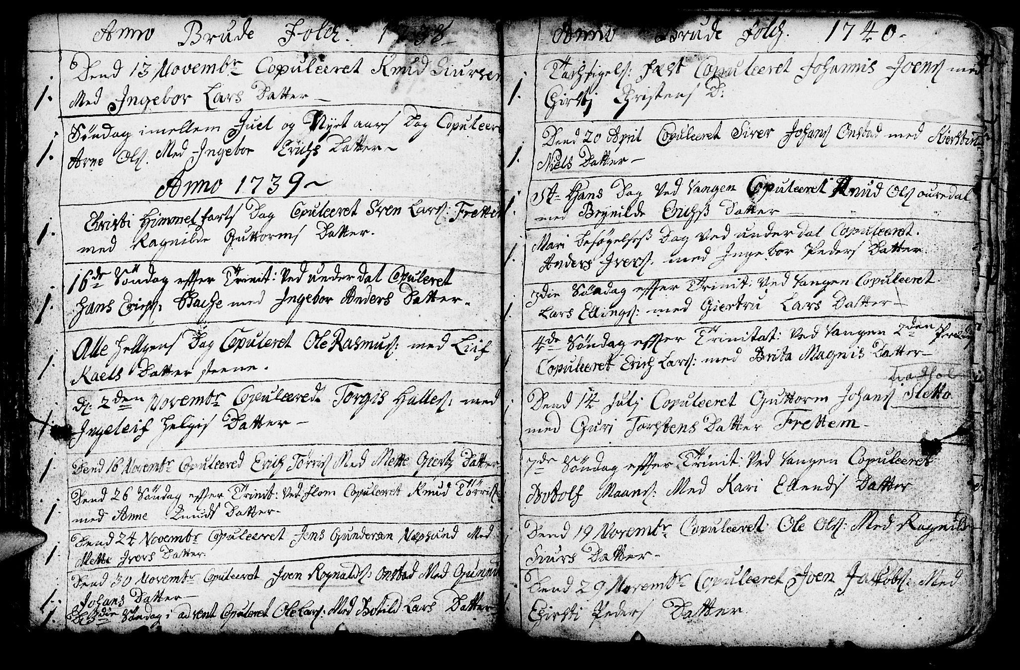 SAB, Aurland Sokneprestembete*, Ministerialbok nr. A 3, 1735-1761, s. 189