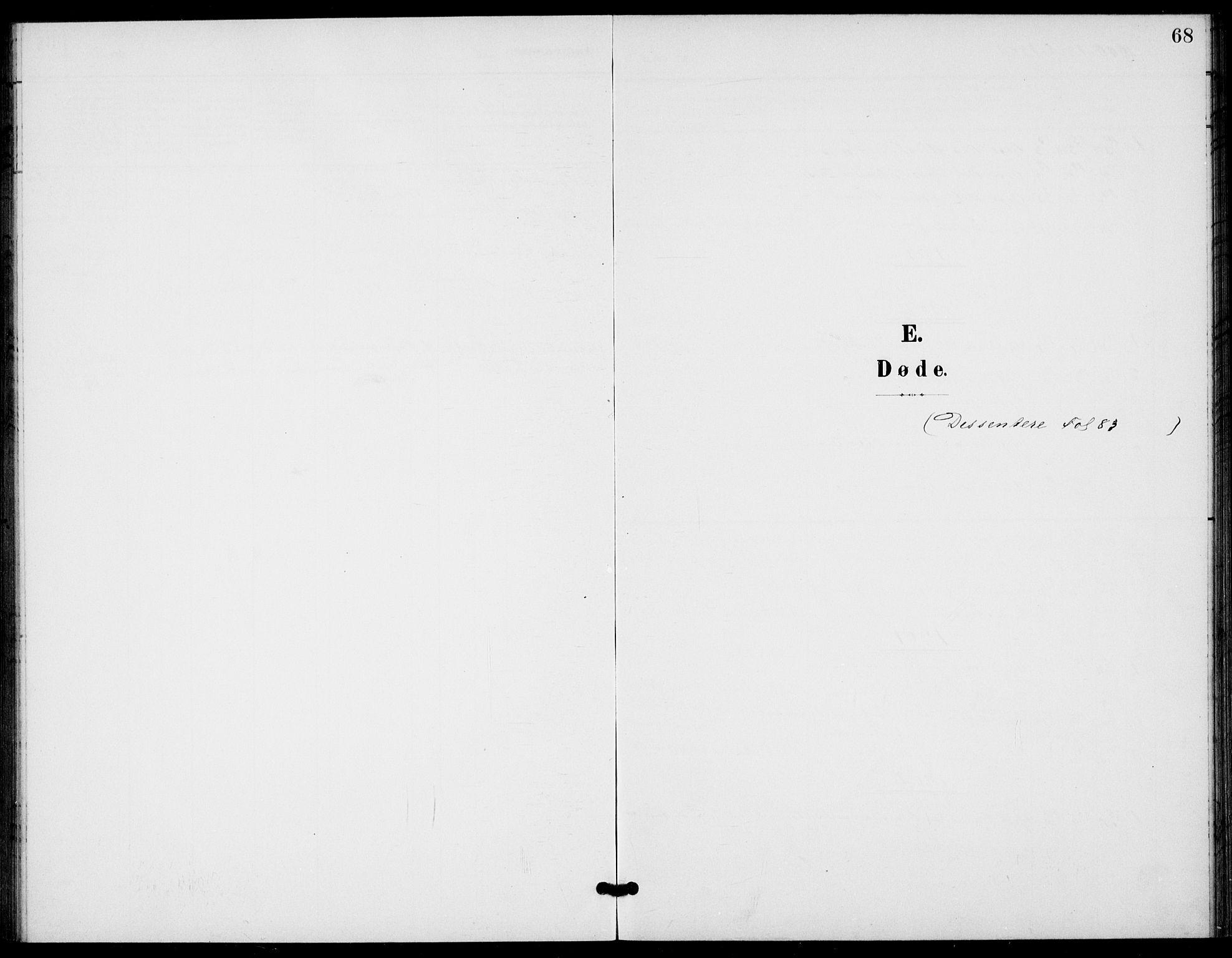 SAKO, Bamble kirkebøker, G/Gb/L0002: Klokkerbok nr. II 2, 1900-1925, s. 68