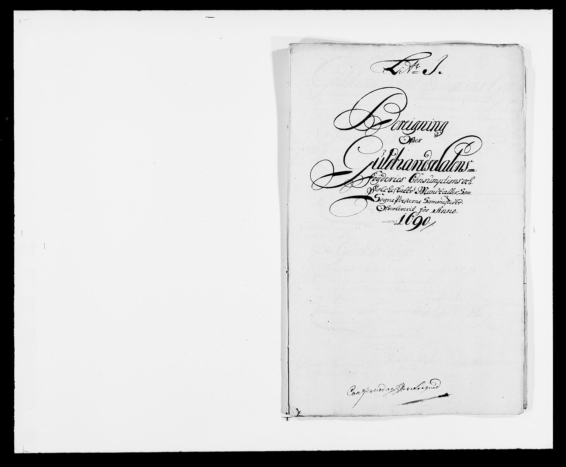 RA, Rentekammeret inntil 1814, Reviderte regnskaper, Fogderegnskap, R17/L1165: Fogderegnskap Gudbrandsdal, 1690-1692, s. 146