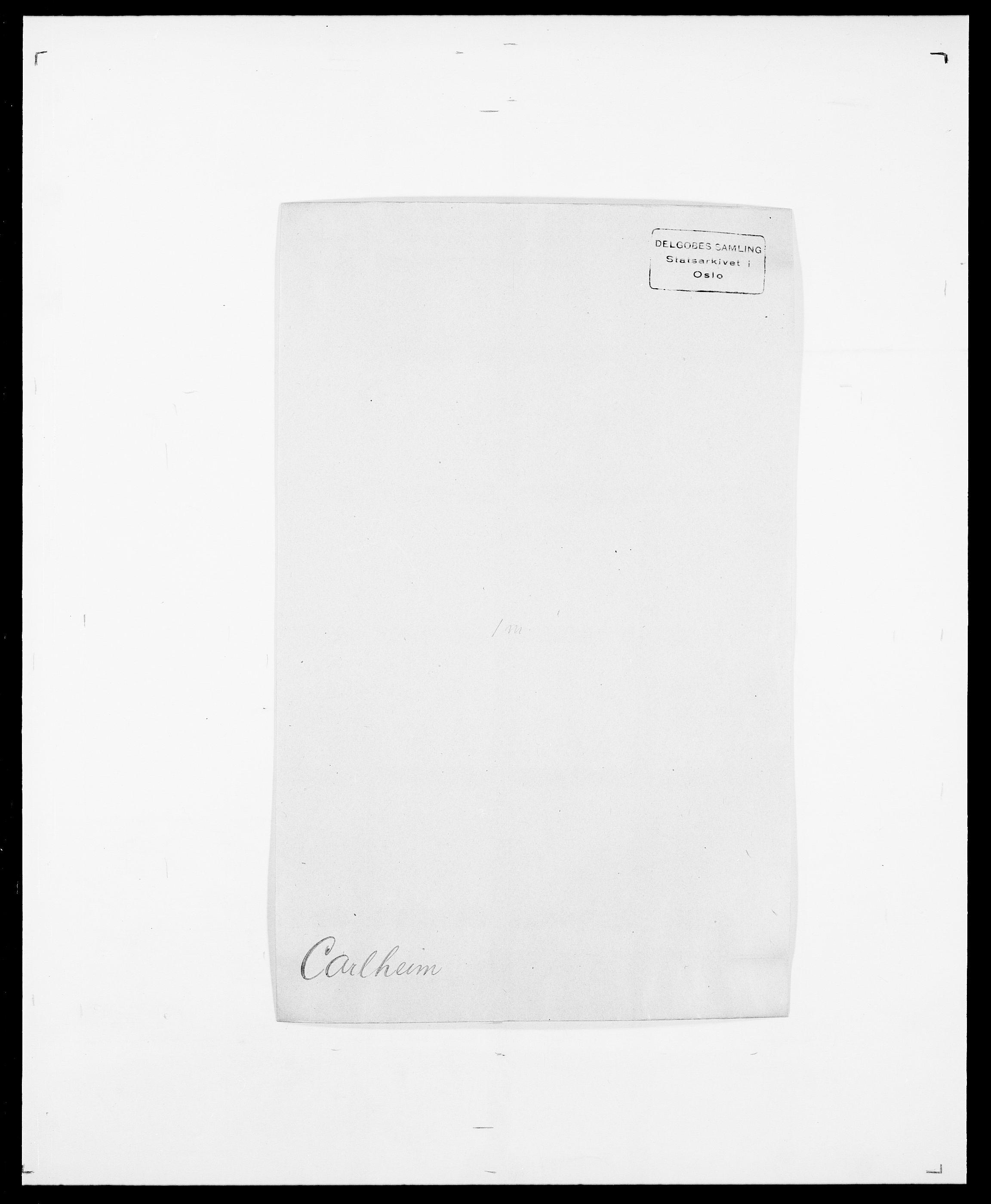 SAO, Delgobe, Charles Antoine - samling, D/Da/L0008: Capjon - Dagenbolt, s. 43
