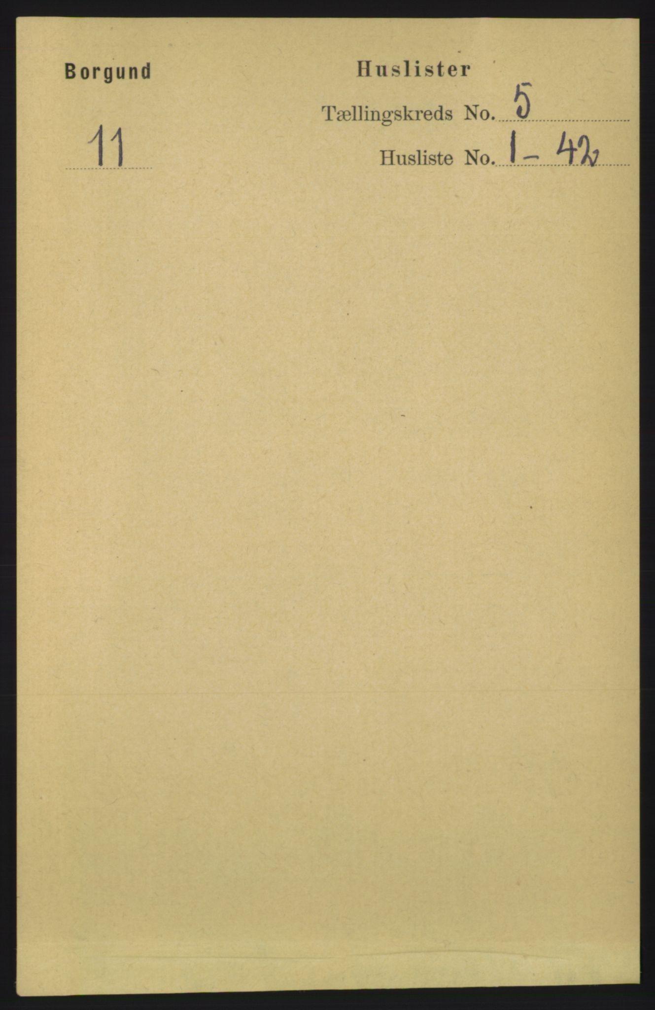 RA, Folketelling 1891 for 1531 Borgund herred, 1891, s. 1220