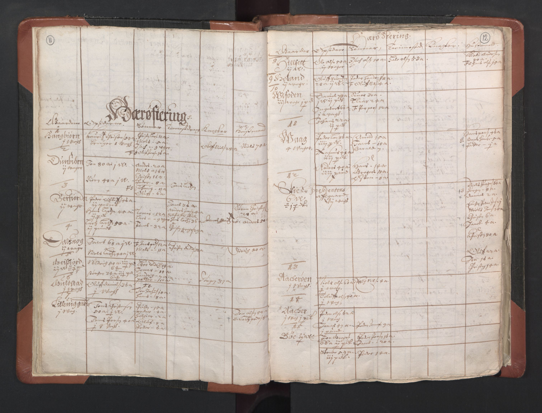 RA, Sogneprestenes manntall 1664-1666, nr. 35: Helgeland prosti og Salten prosti, 1664-1666, s. 11-12