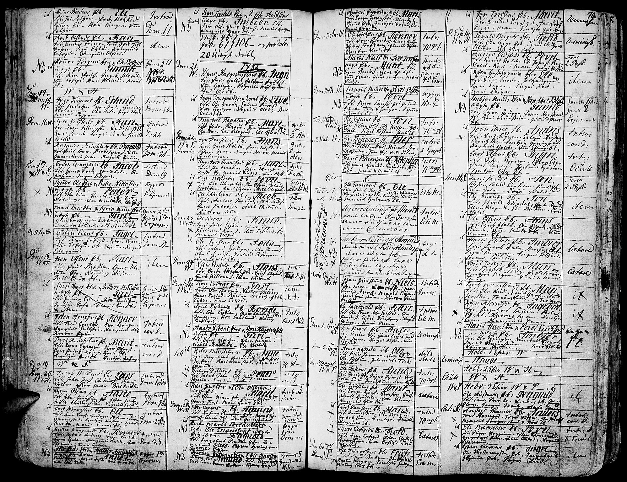 SAH, Vågå prestekontor, Ministerialbok nr. 1, 1739-1810, s. 79