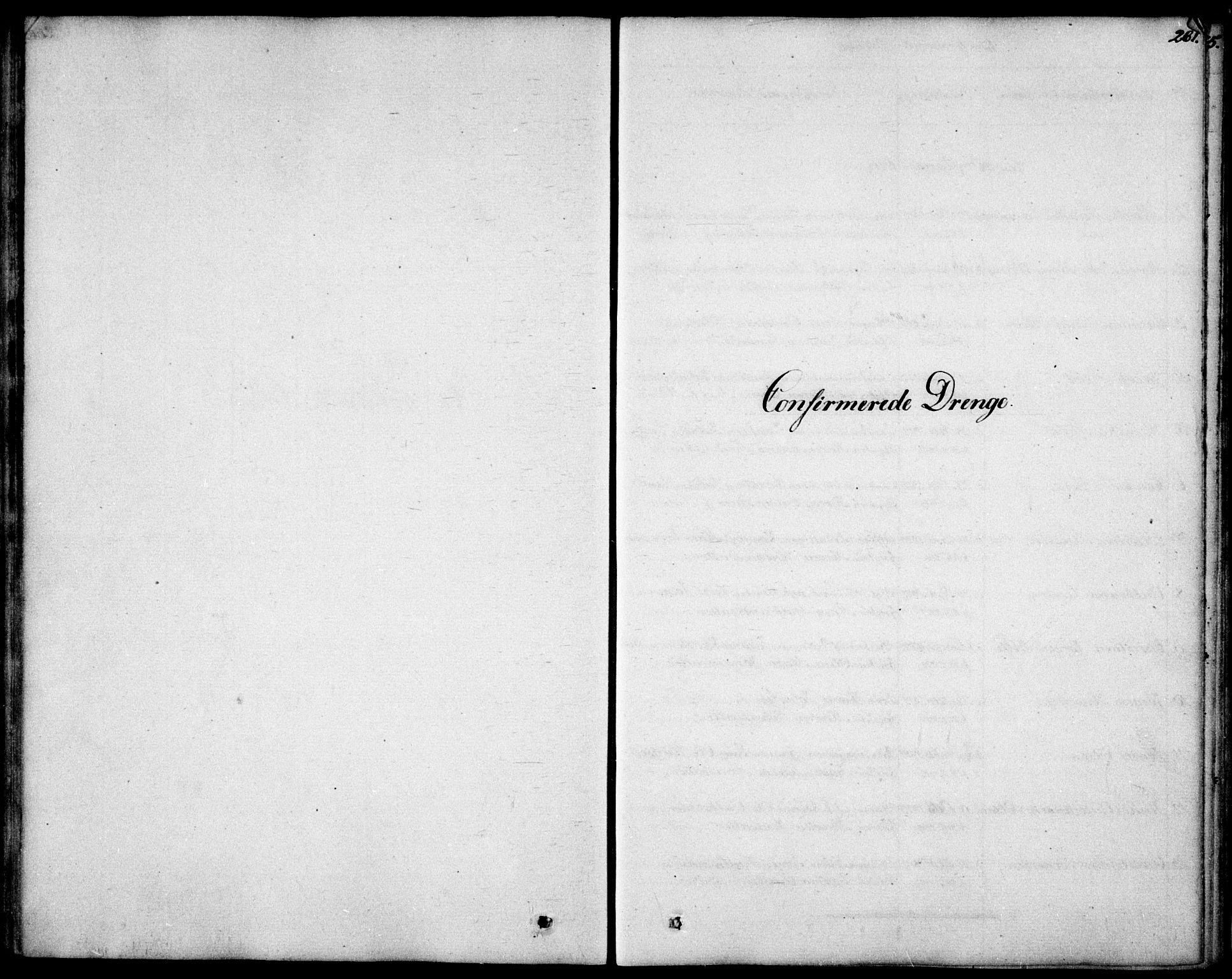 SAO, Garnisonsmenigheten Kirkebøker, F/Fa/L0006: Ministerialbok nr. 6, 1828-1841, s. 261