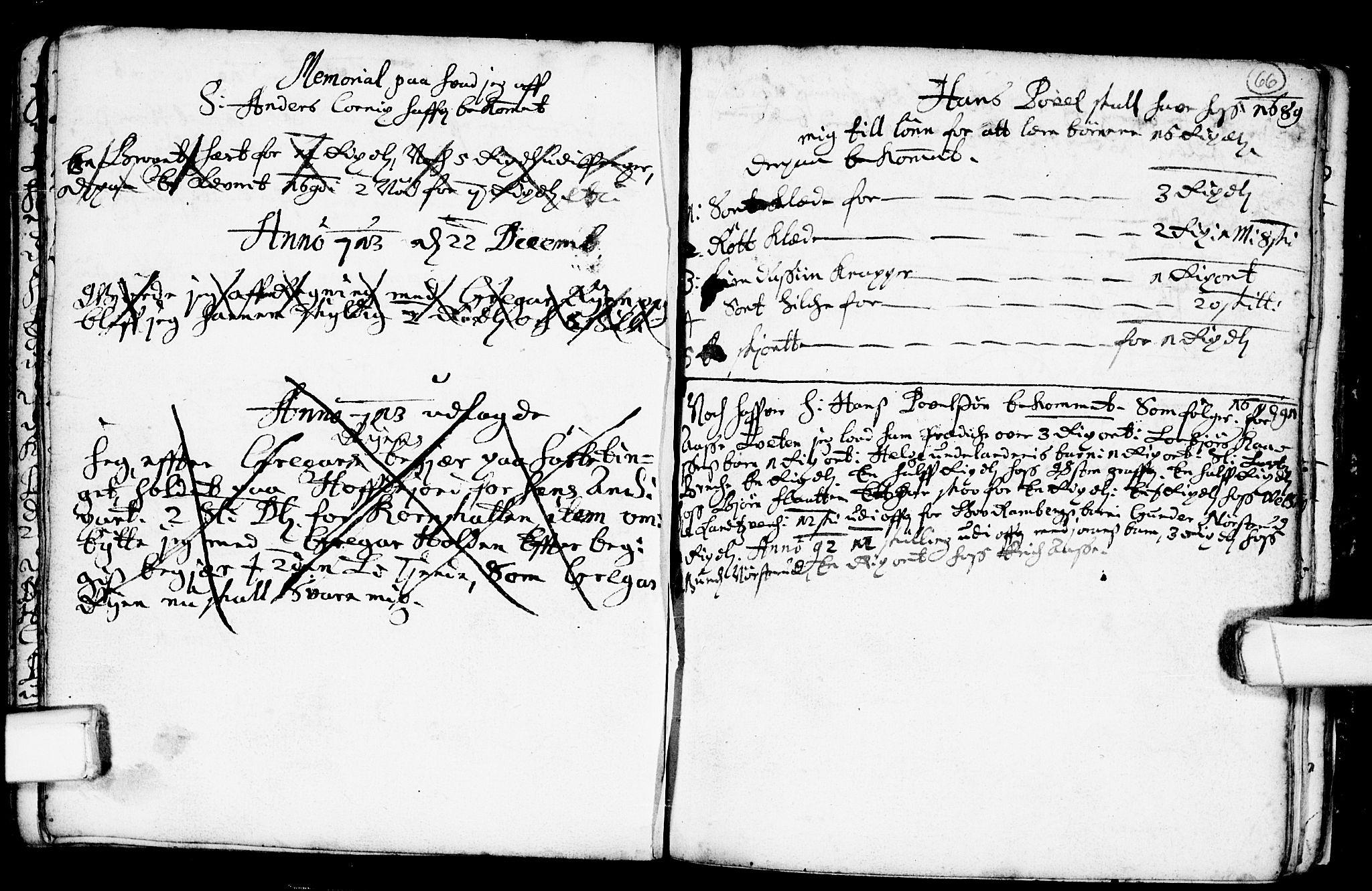 SAKO, Heddal kirkebøker, F/Fa/L0001: Ministerialbok nr. I 1, 1648-1699, s. 66