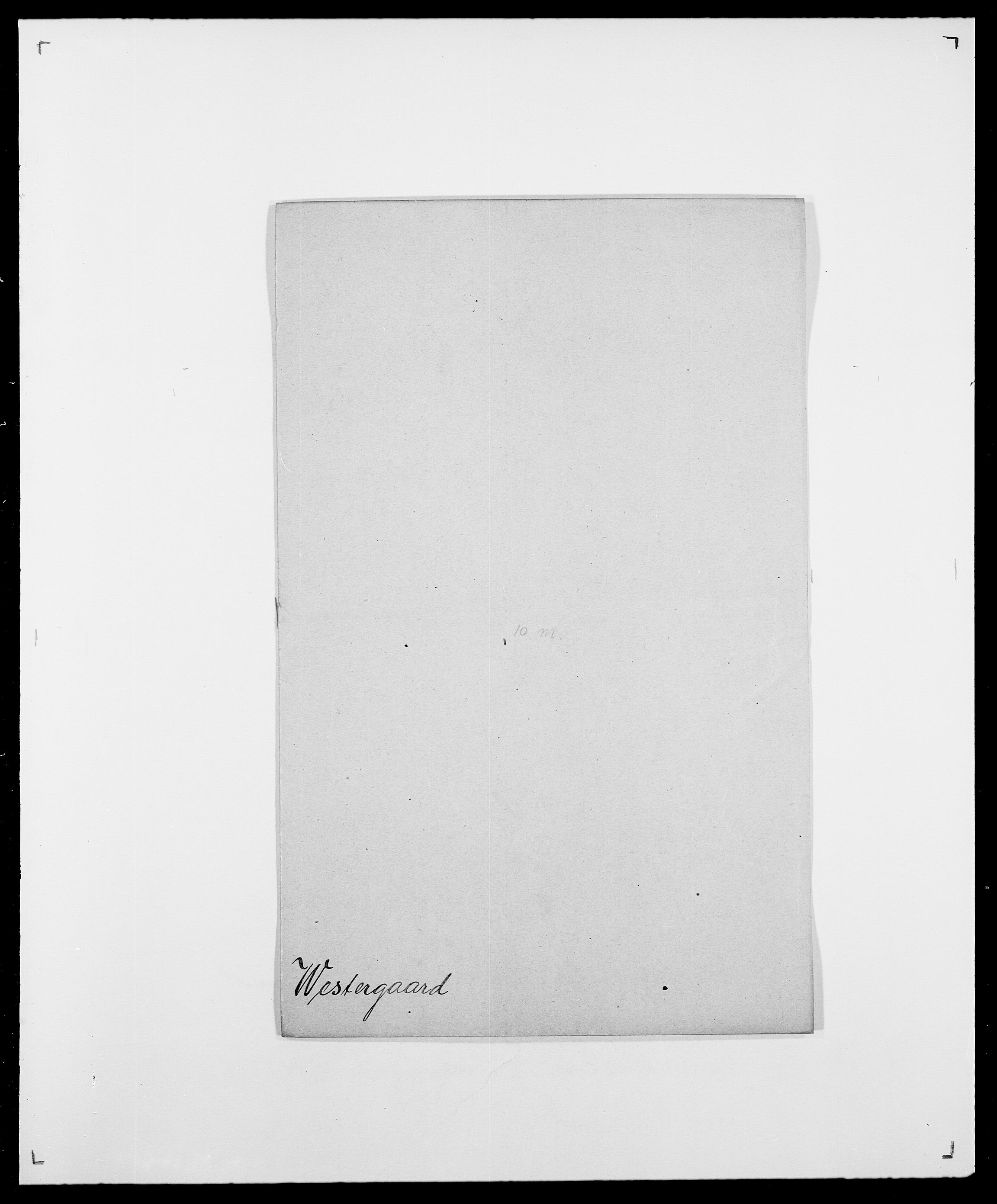 SAO, Delgobe, Charles Antoine - samling, D/Da/L0041: Vemmestad - Viker, s. 268
