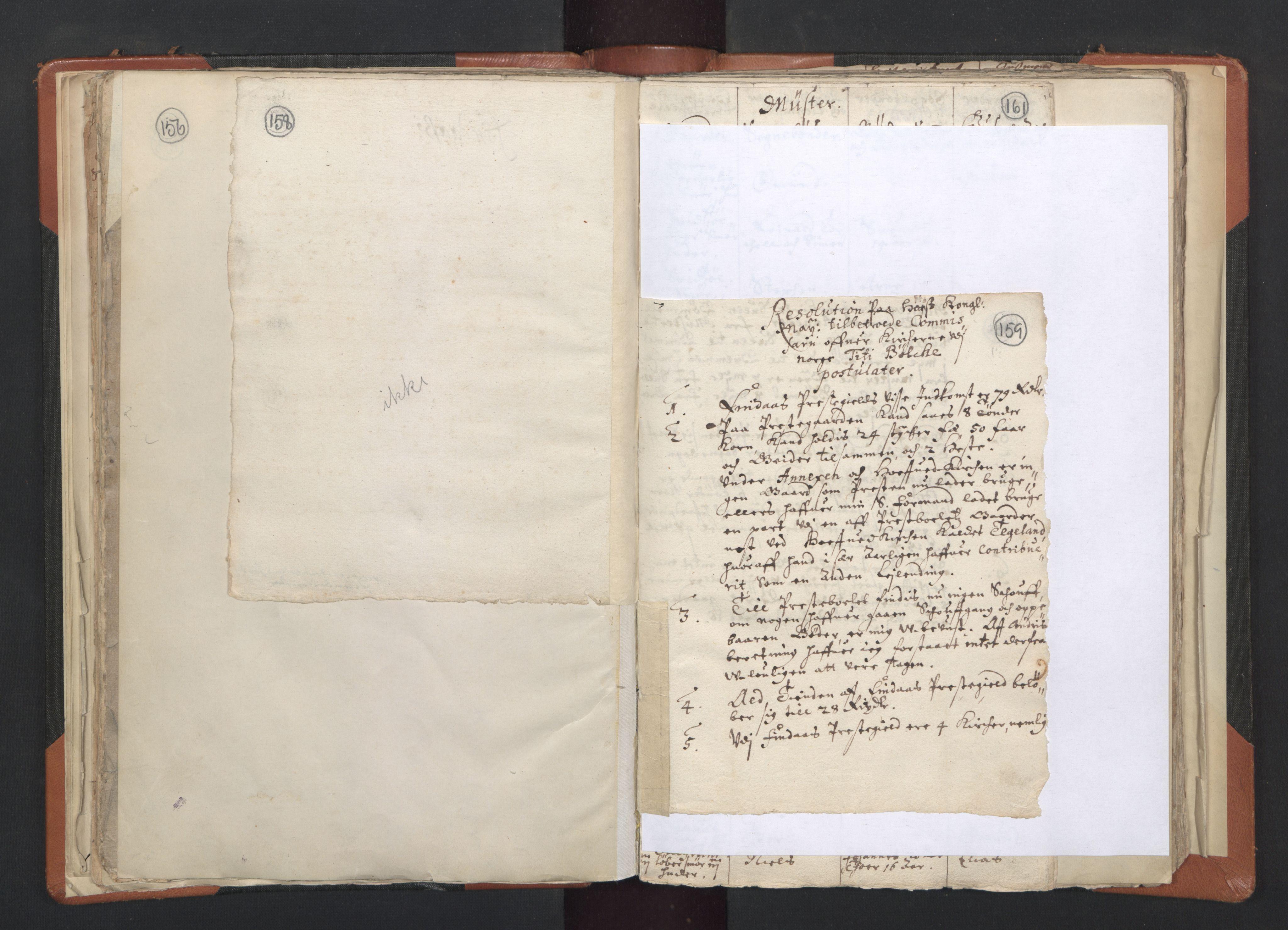 RA, Sogneprestenes manntall 1664-1666, nr. 20: Sunnhordland prosti, 1664-1666, s. 158-159
