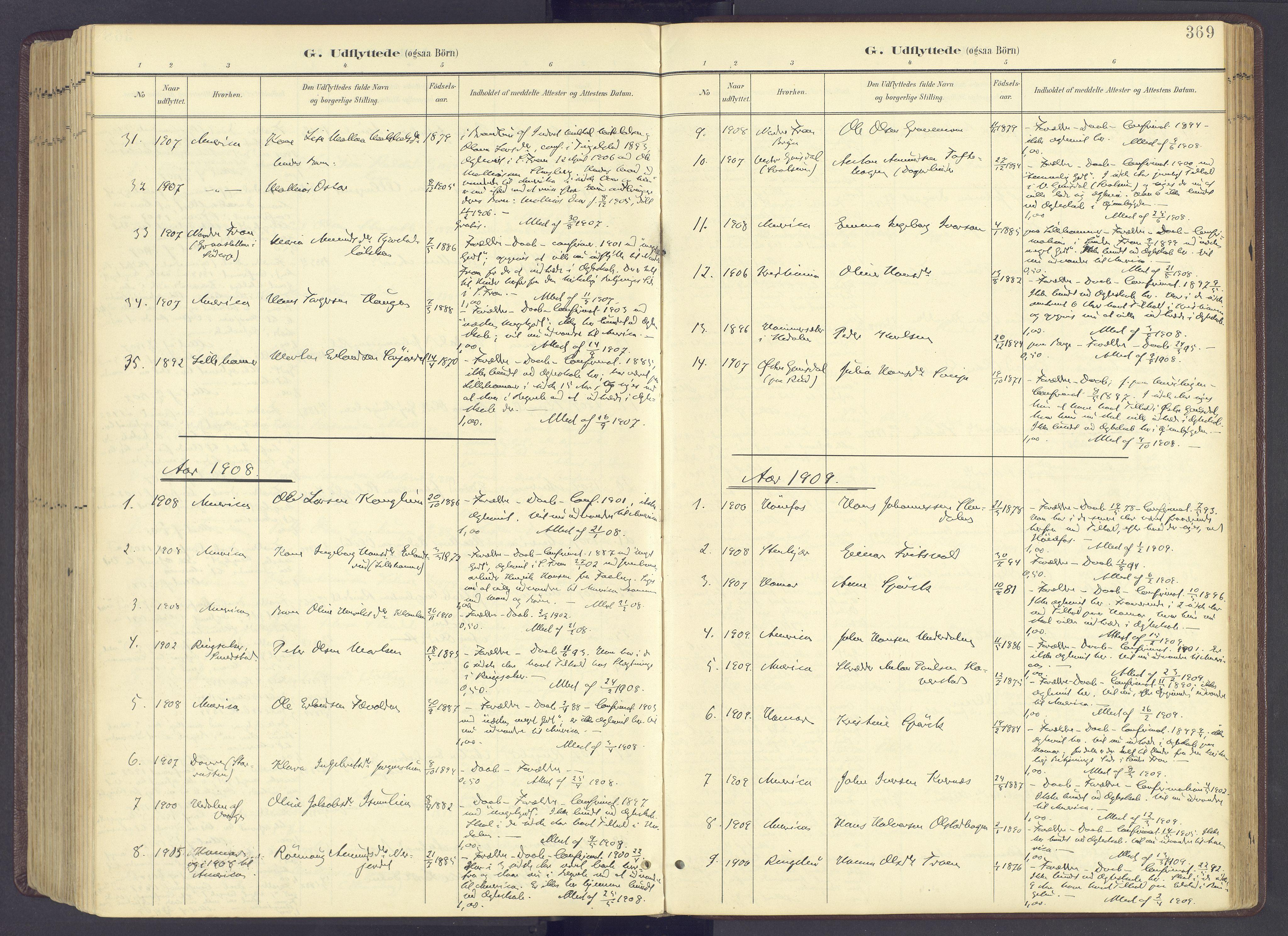 SAH, Sør-Fron prestekontor, H/Ha/Haa/L0004: Ministerialbok nr. 4, 1898-1919, s. 369