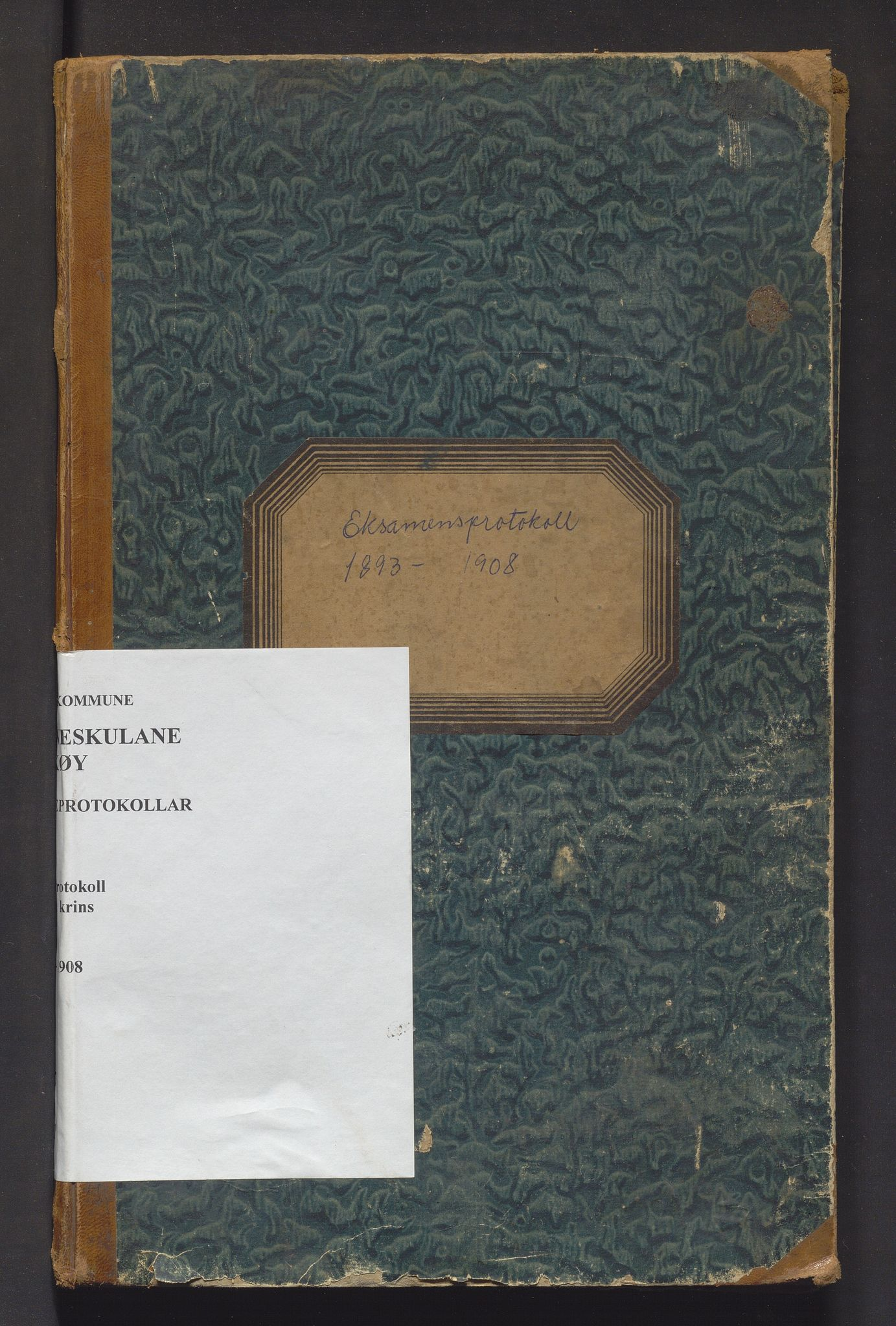 IKAH, Askøy kommune. Barneskulane, F/Fd/L0001: Skuleprotokoll for Follese og Haugland krinsar , 1893-1908